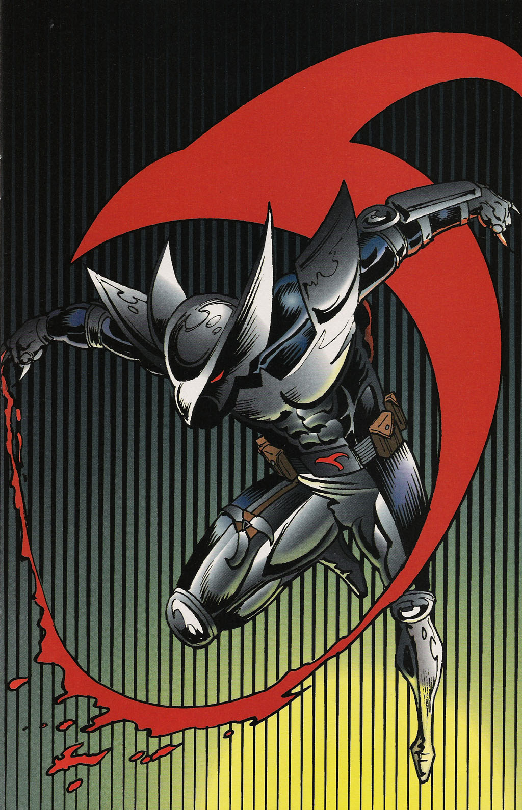 Read online ShadowHawk Gallery comic -  Issue # Full - 7