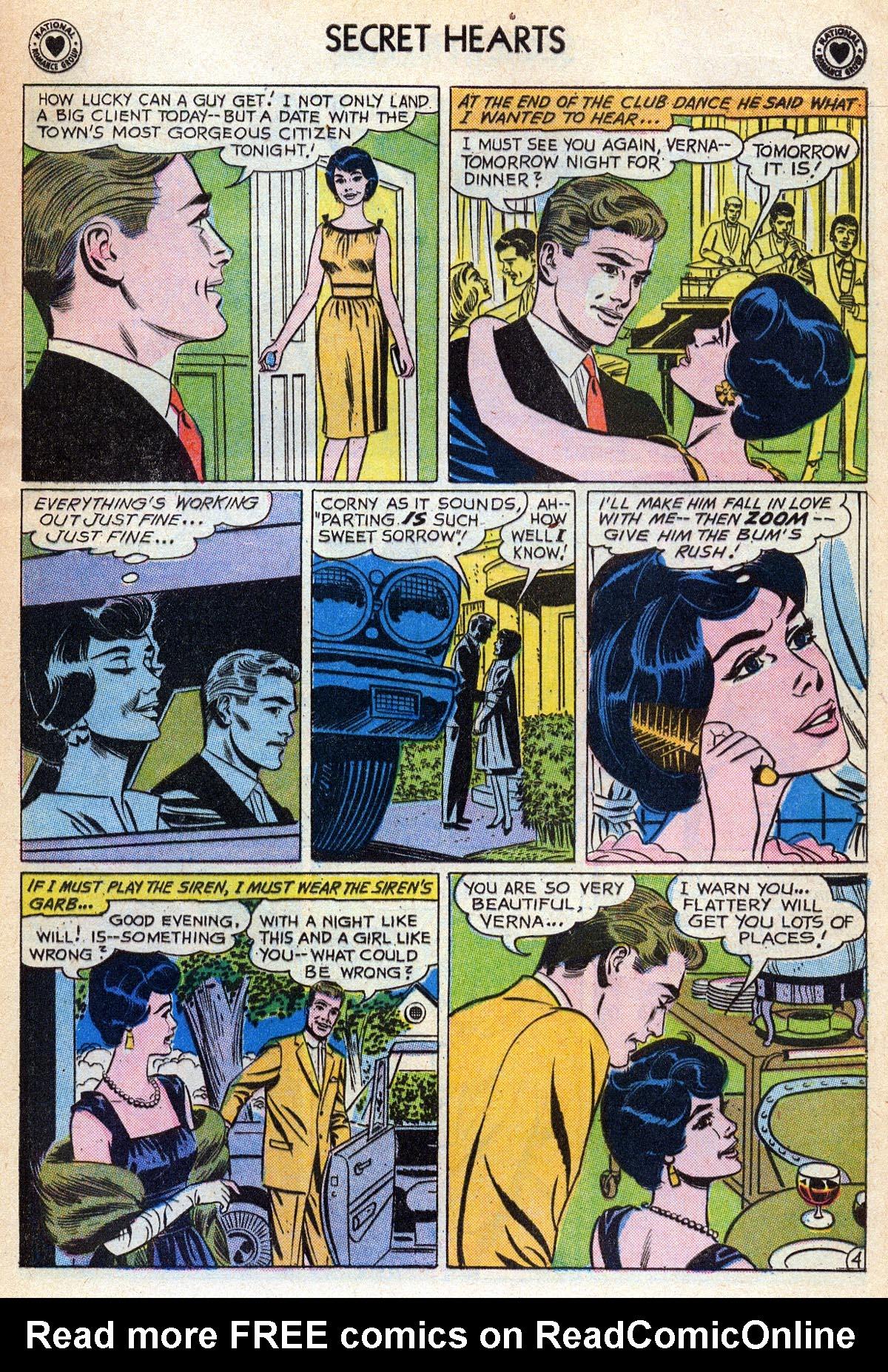 Read online Secret Hearts comic -  Issue #76 - 21