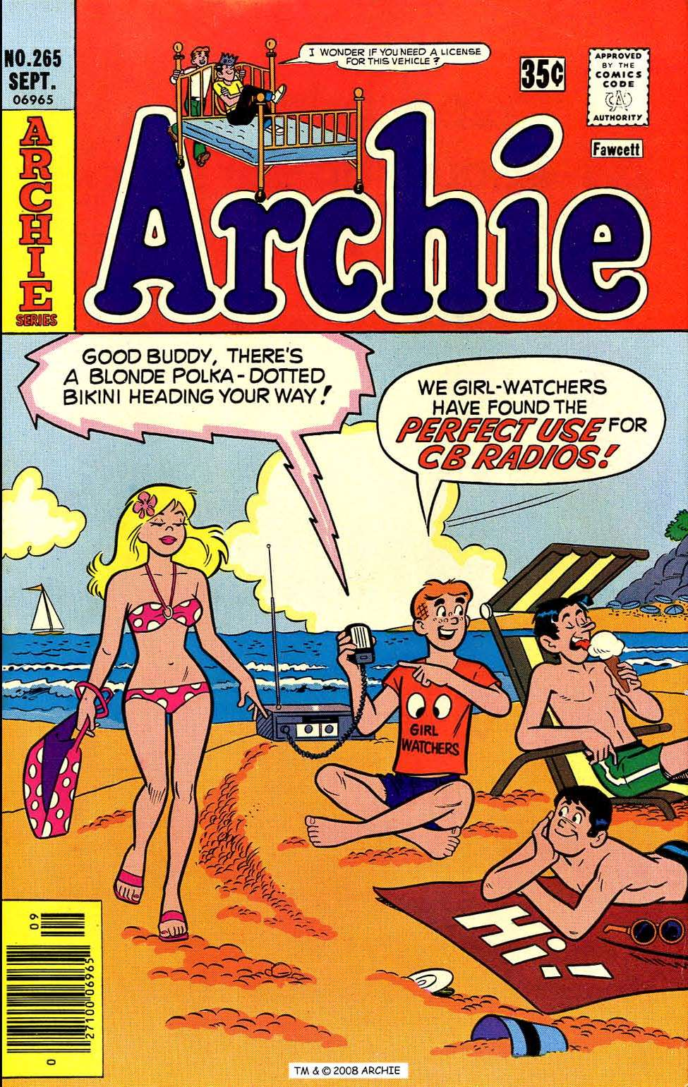 Read online Archie (1960) comic -  Issue #265 - 1