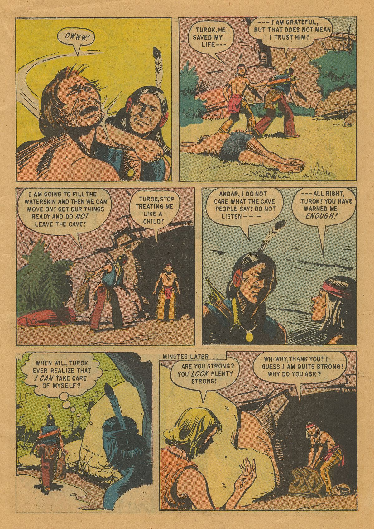 Read online Turok, Son of Stone comic -  Issue #22 - 11