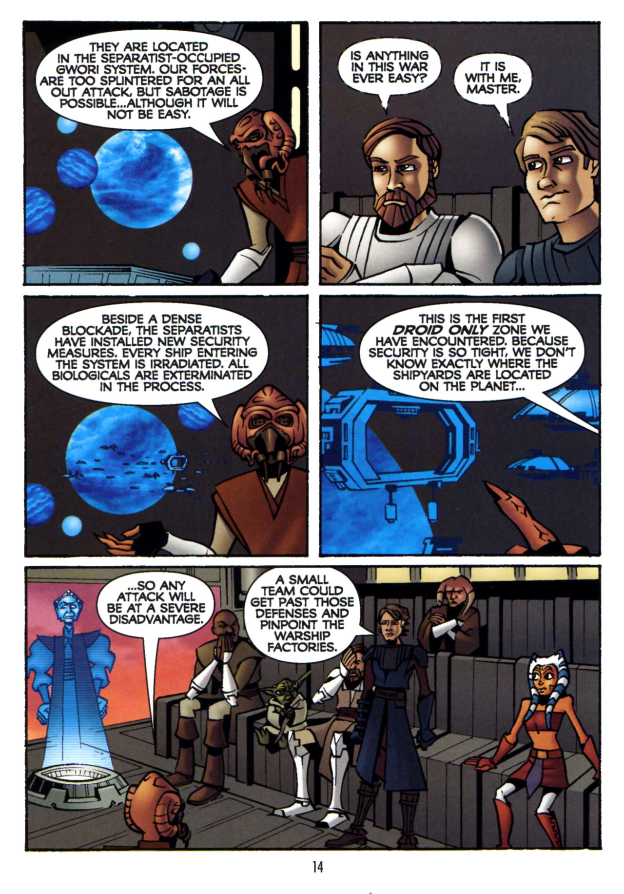 Read online Star Wars: The Clone Wars - Shipyards of Doom comic -  Issue # Full - 13