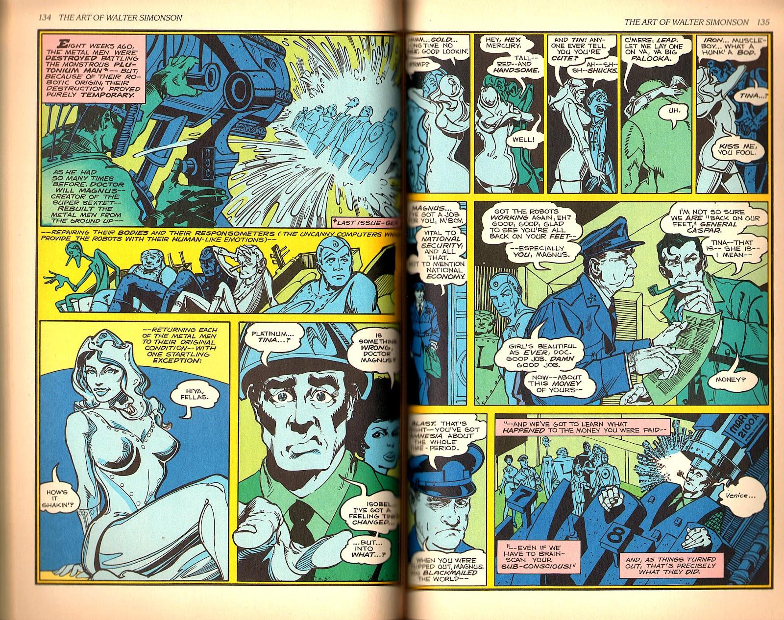 Read online The Art of Walter Simonson comic -  Issue # TPB - 69