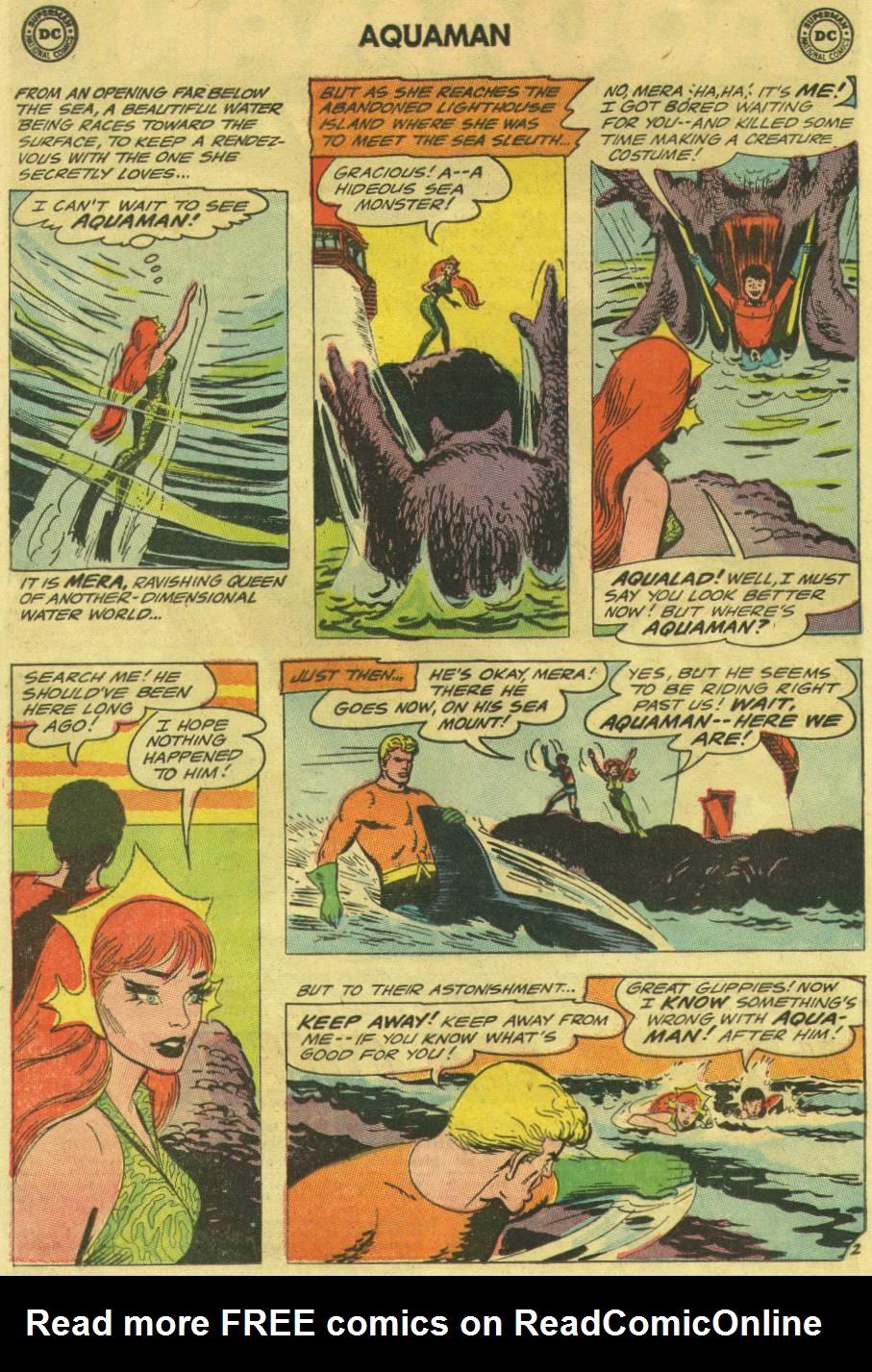 Read online Aquaman (1962) comic -  Issue #16 - 4