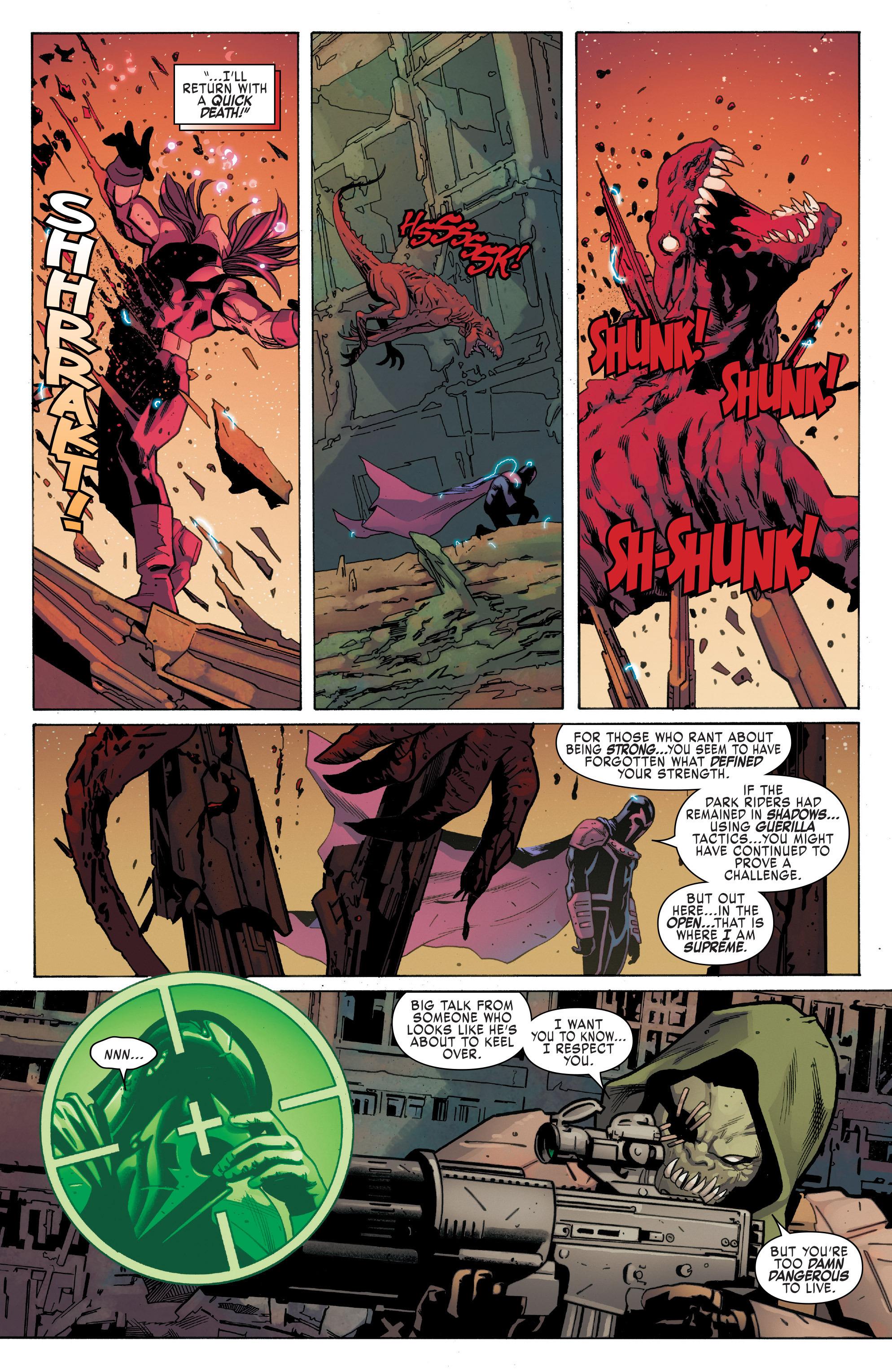Read online Uncanny X-Men (2016) comic -  Issue #5 - 7