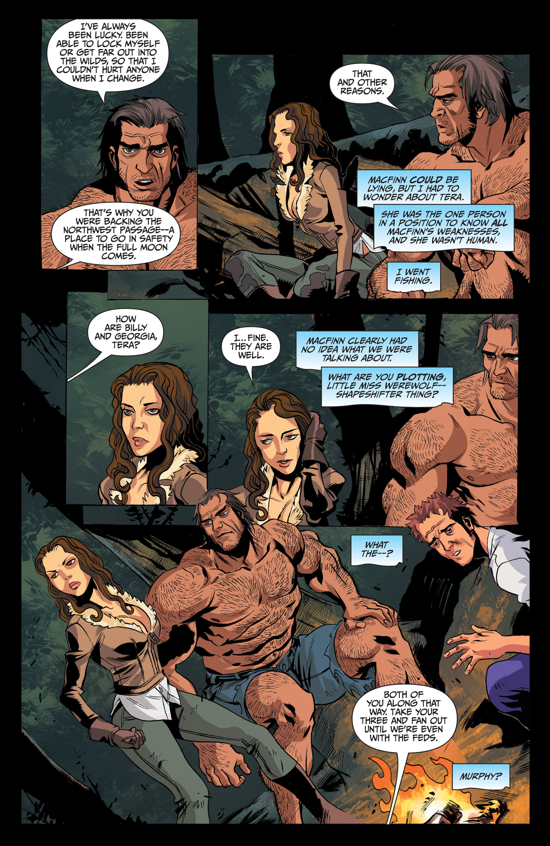 Read online Jim Butcher's The Dresden Files: Fool Moon comic -  Issue #4 - 18