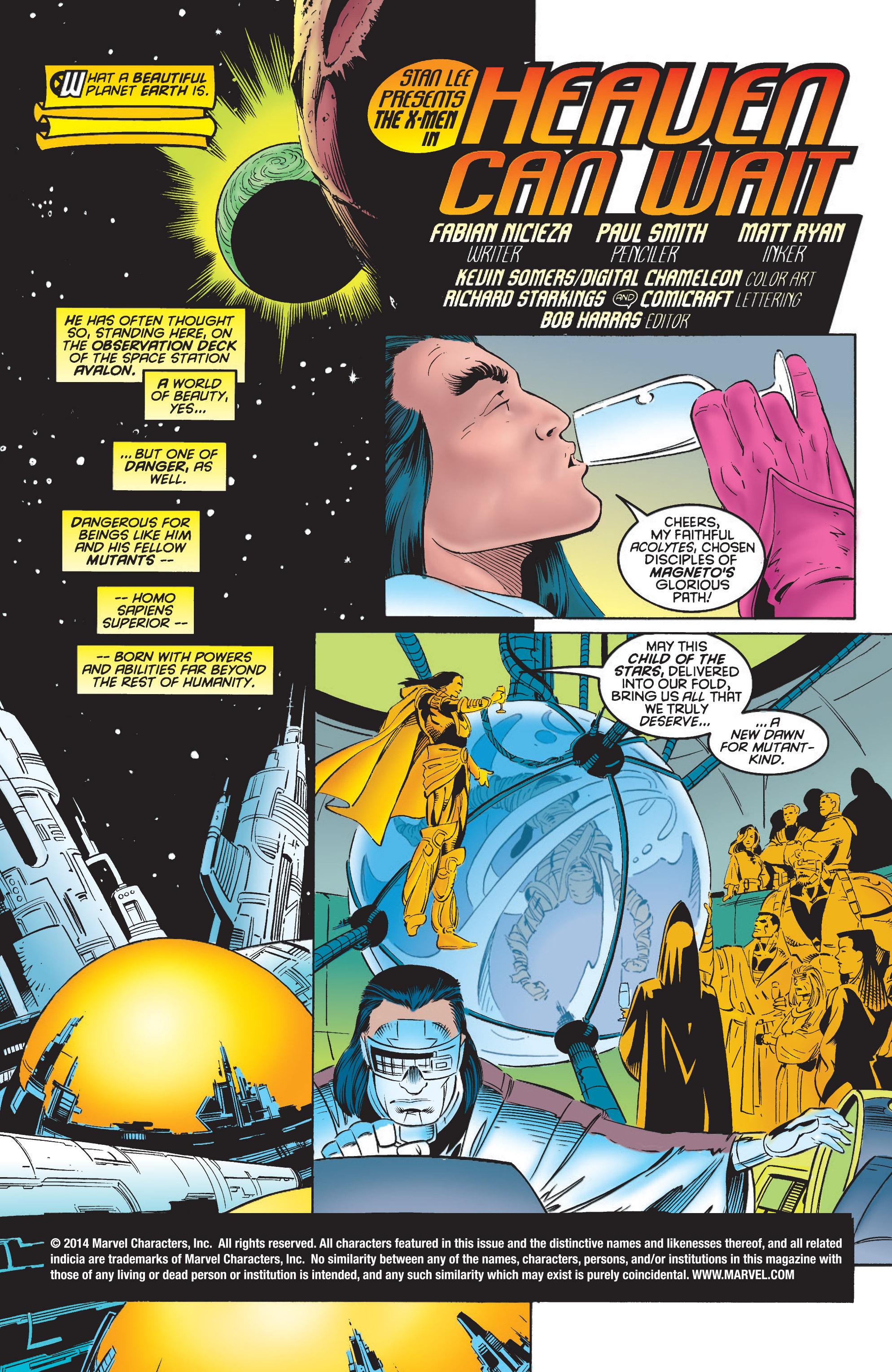 X-Men (1991) 42 Page 1