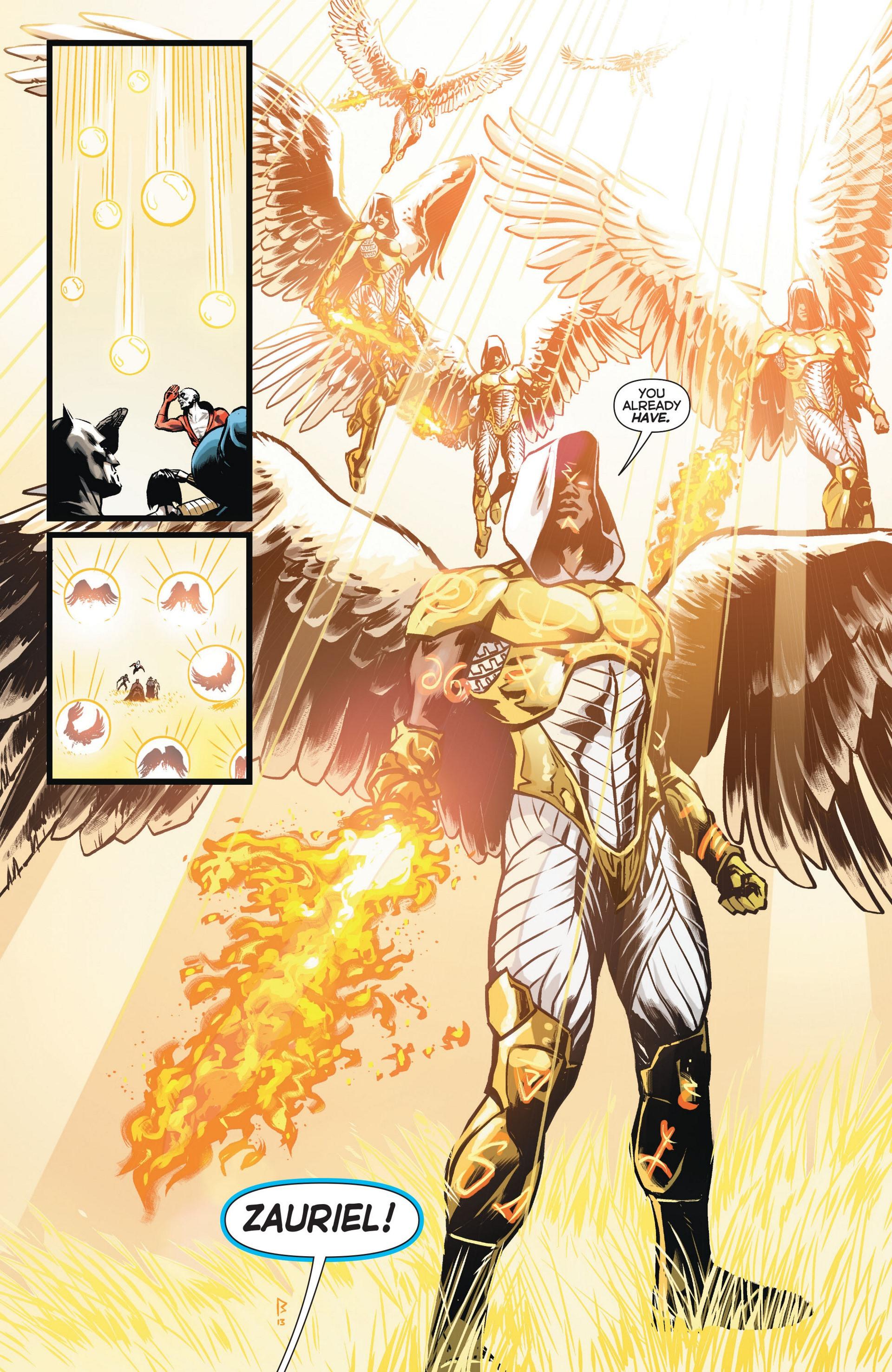Read online Trinity of Sin: The Phantom Stranger comic -  Issue #11 - 20