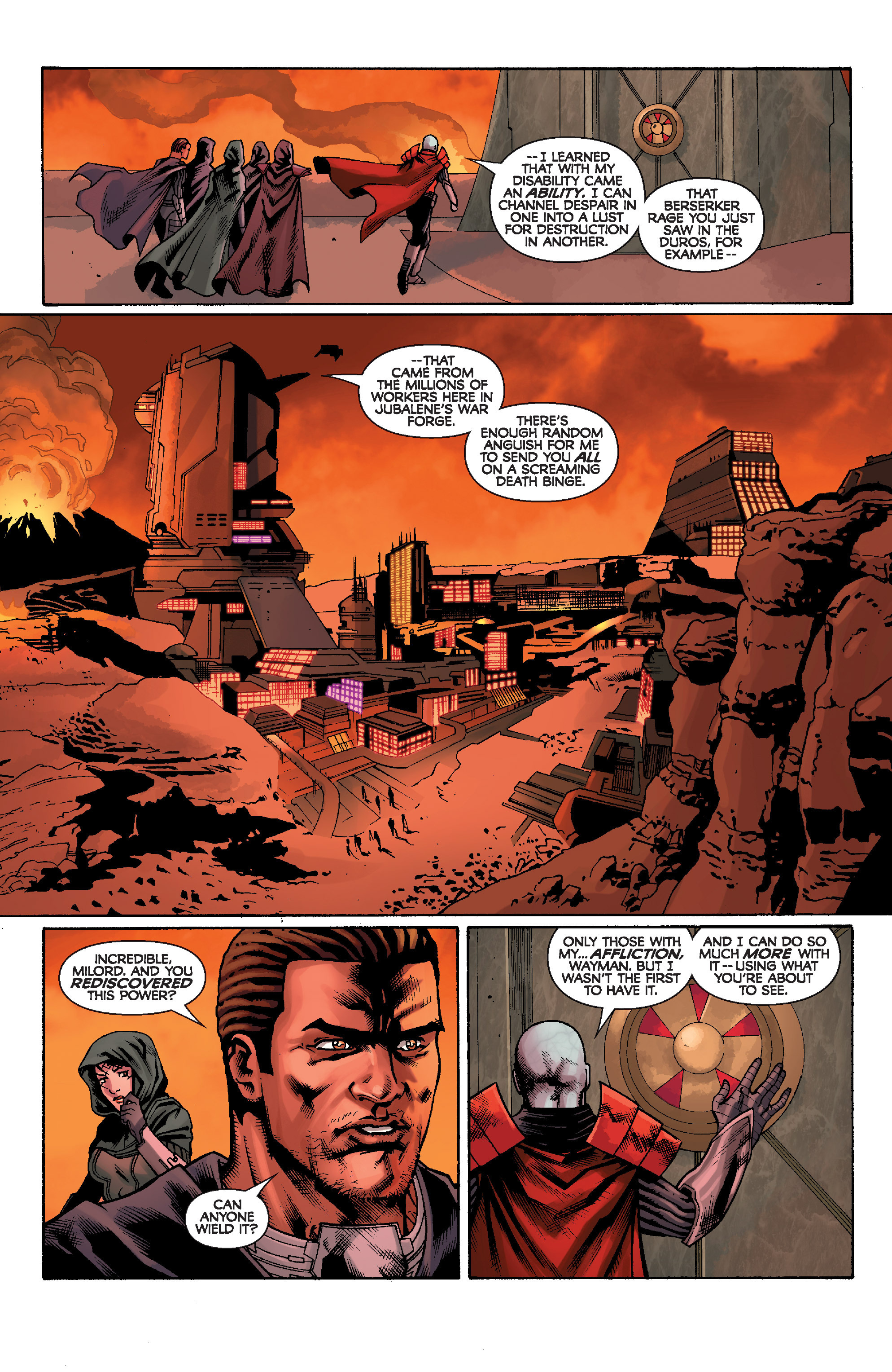 Read online Star Wars: Knight Errant - Escape comic -  Issue #1 - 19