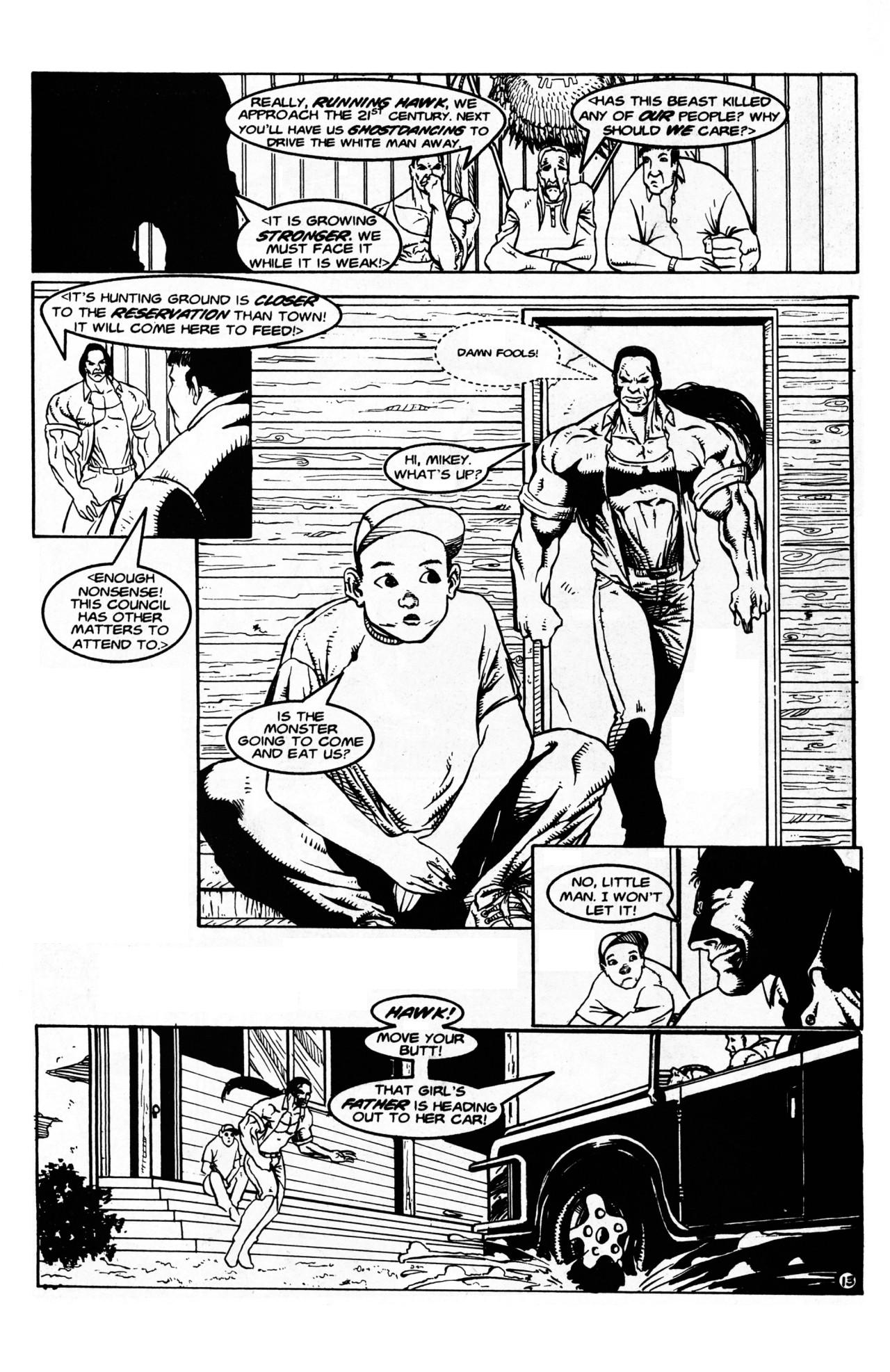 Read online Dr. Weird (1997) comic -  Issue #1 - 15