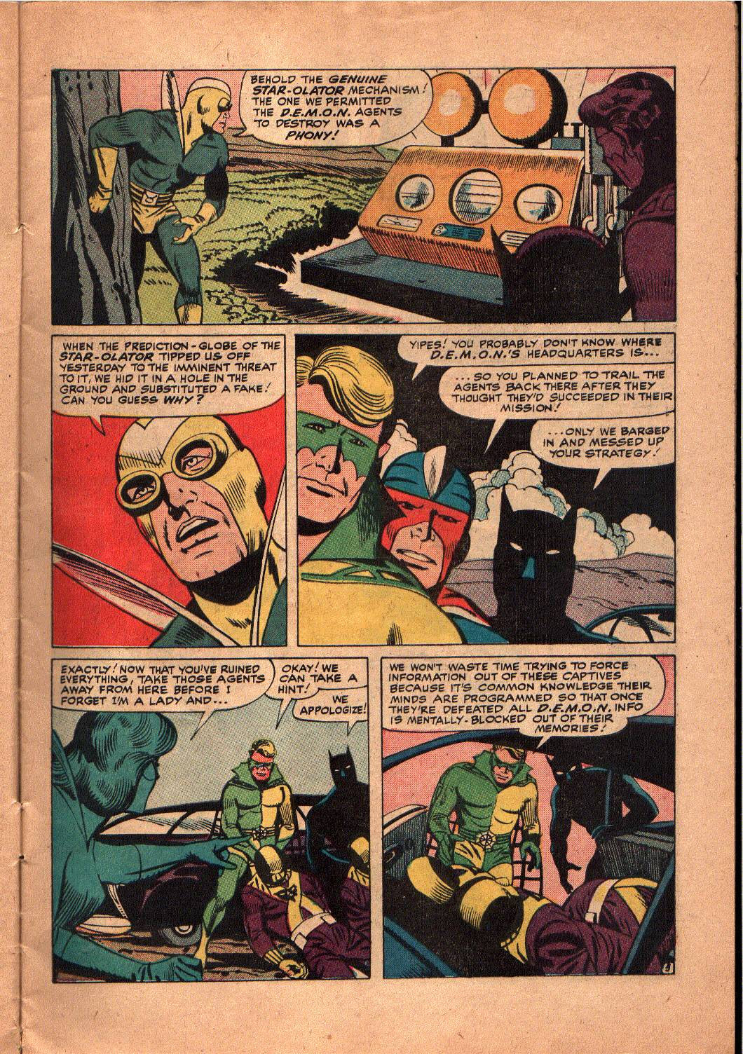 The Mighty Crusaders (1965) Issue #5 #5 - English 6