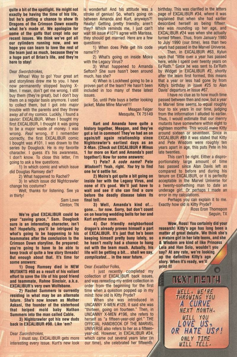 Excalibur (1988) issue 109 - Page 24