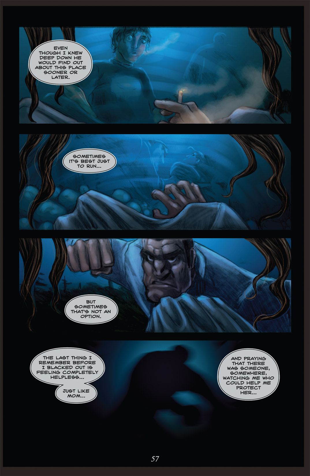 Read online Nightmare World comic -  Issue # Vol. 2 Leave the Light On - 58