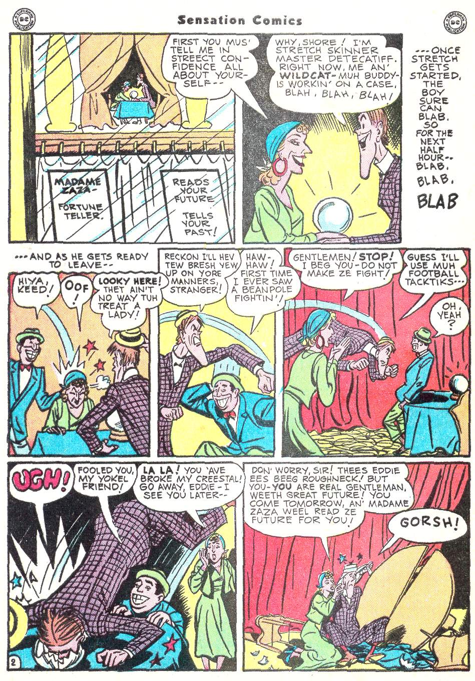 Read online Sensation (Mystery) Comics comic -  Issue #50 - 42