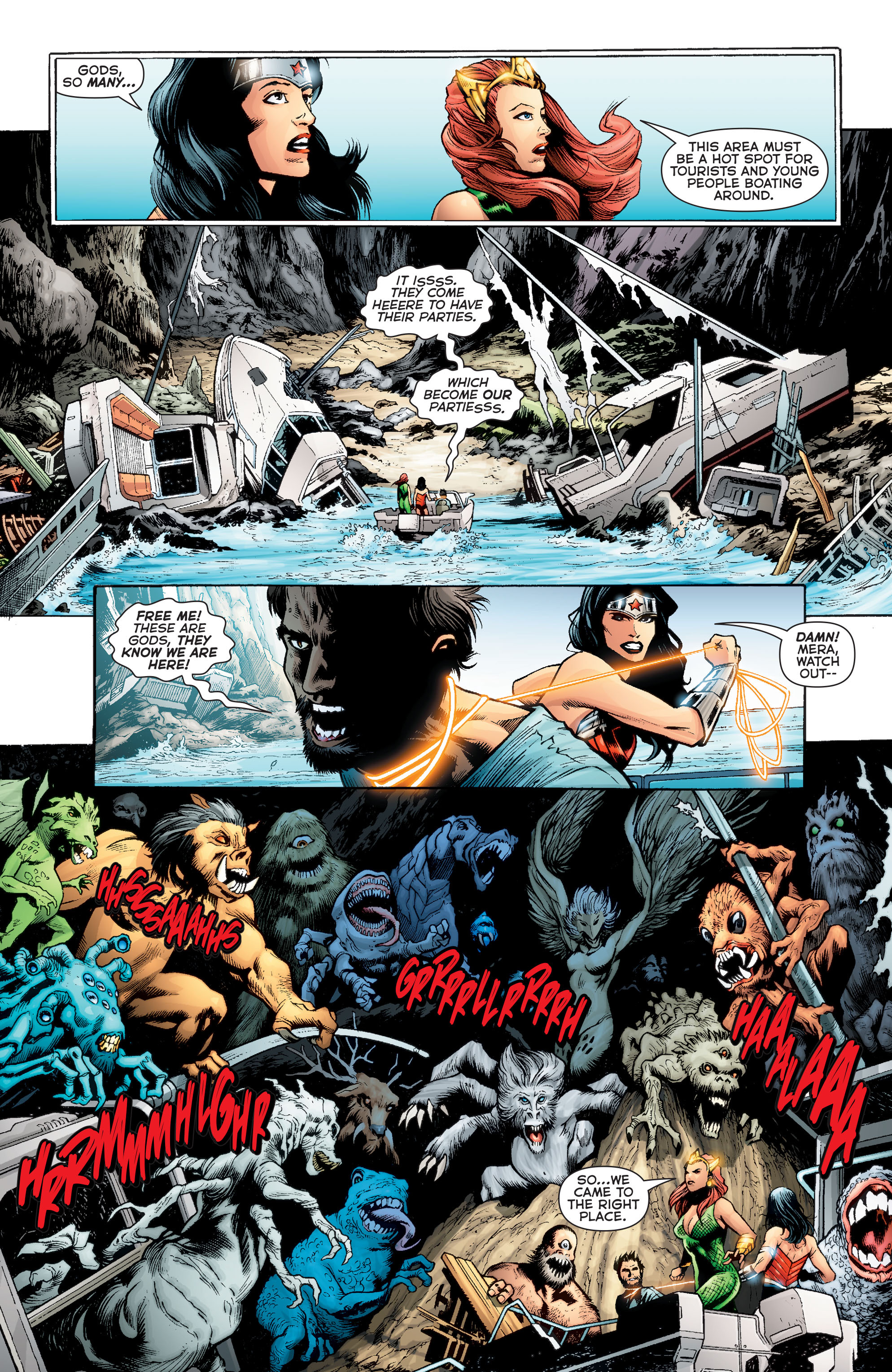Read online Aquaman (2011) comic -  Issue #Aquaman (2011) _Annual 2 - 32
