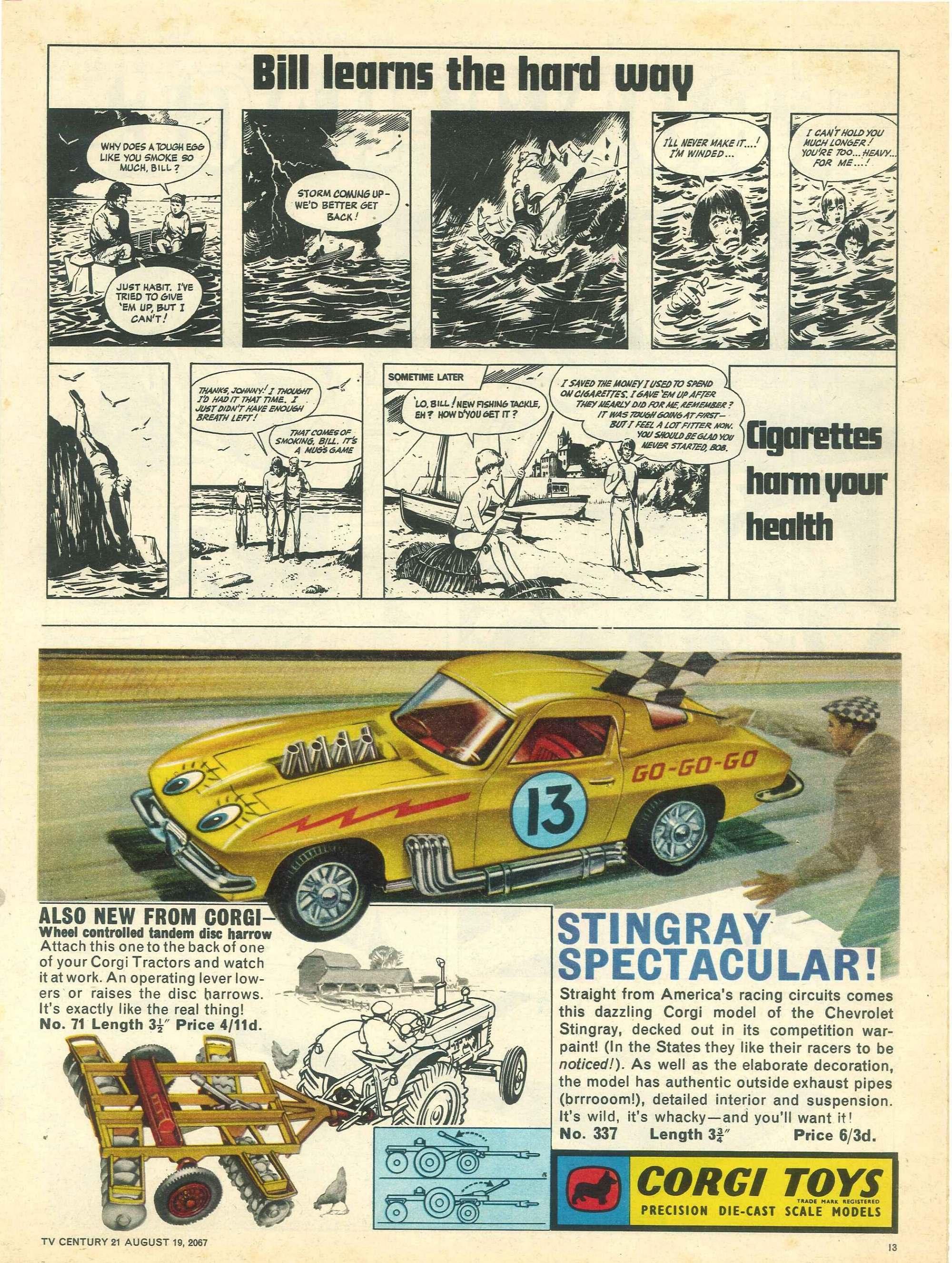Read online TV Century 21 (TV 21) comic -  Issue #135 - 12