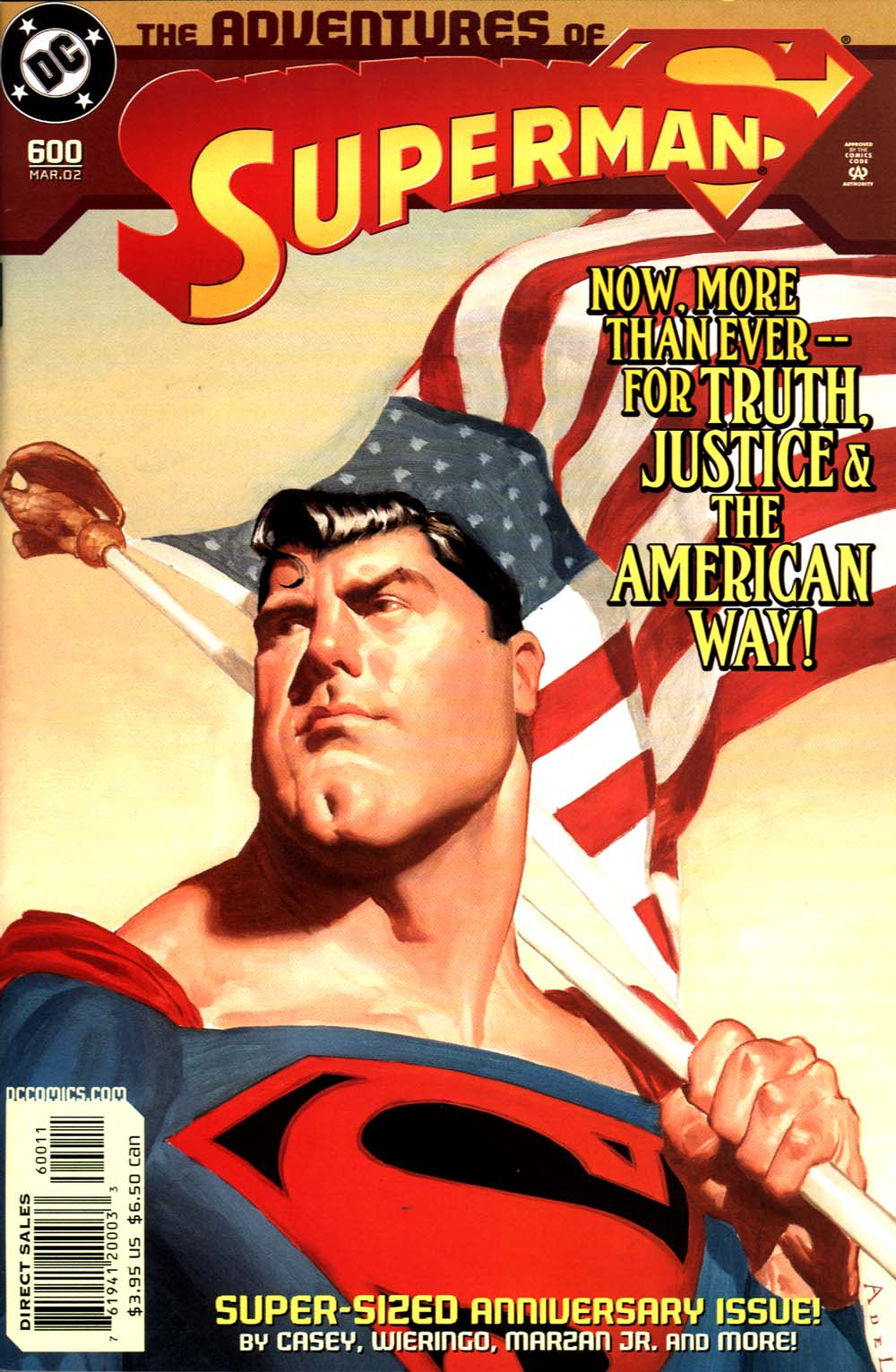 Read online Adventures of Superman (1987) comic -  Issue #600 - 1