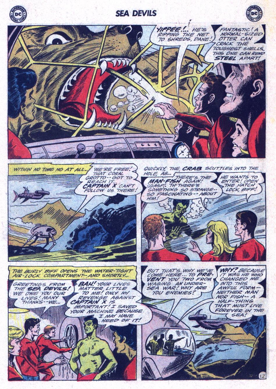 Read online Sea Devils comic -  Issue #22 - 18