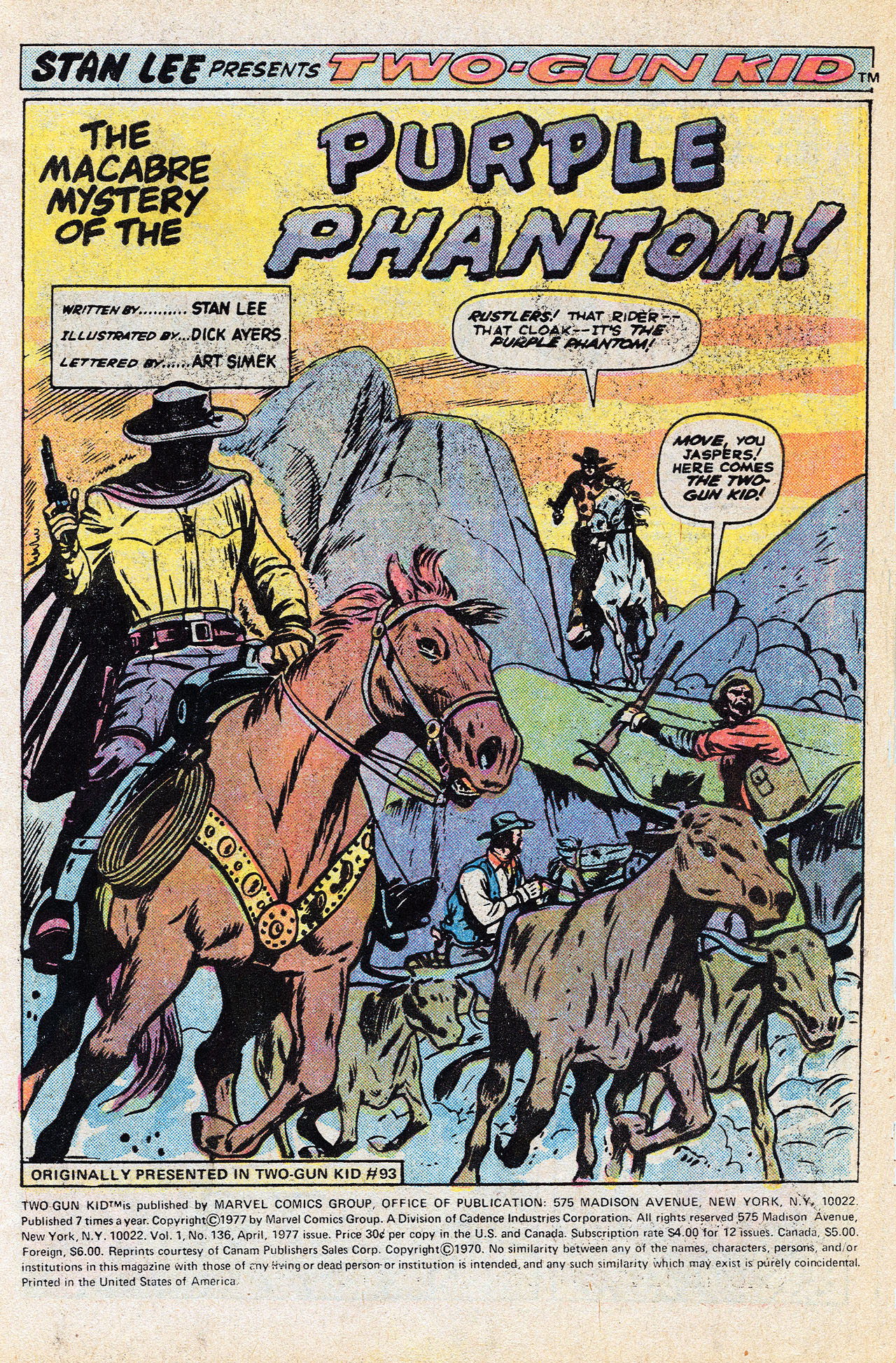 Read online Two-Gun Kid comic -  Issue #136 - 3