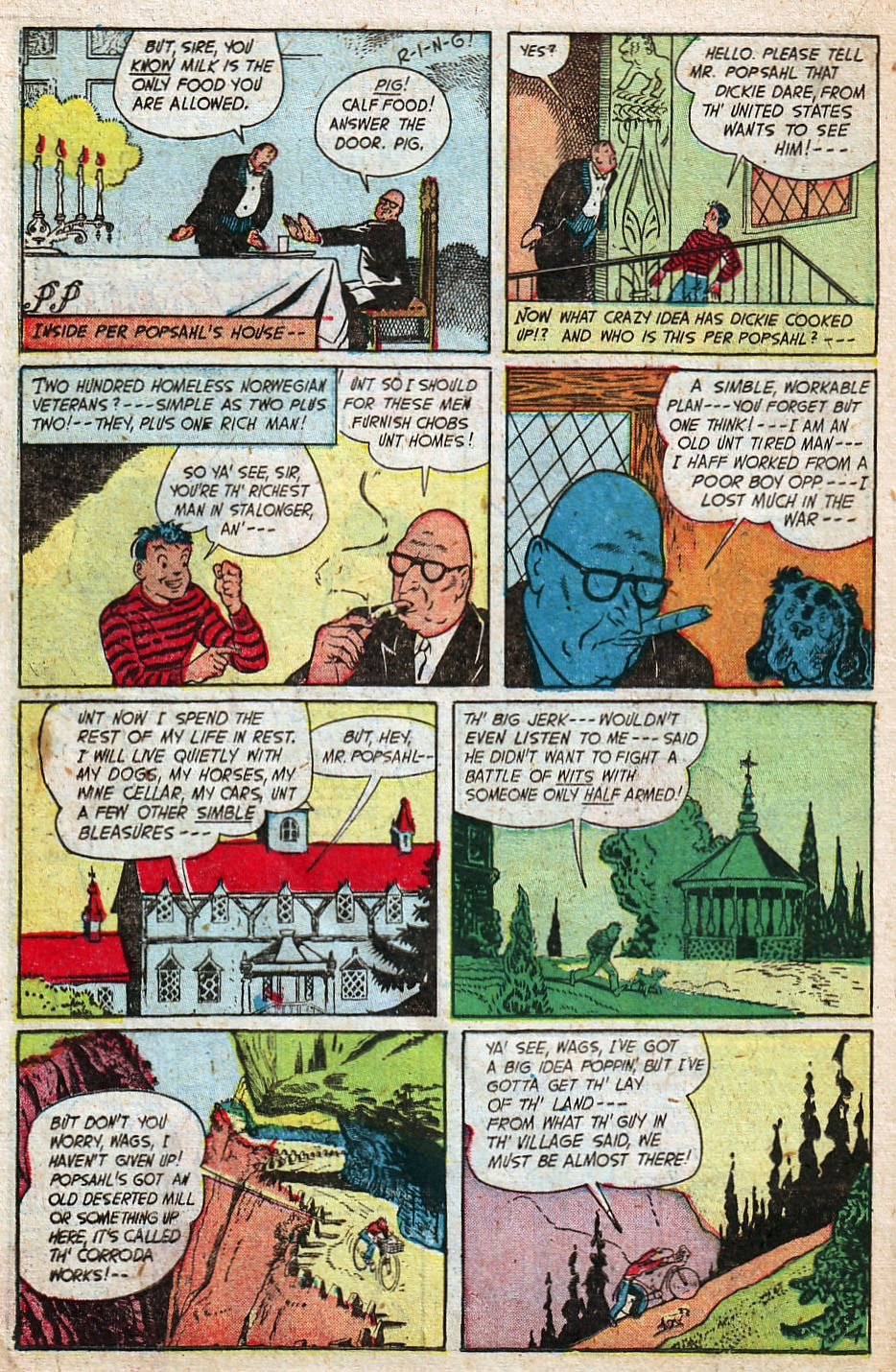 Read online Famous Funnies comic -  Issue #192 - 26