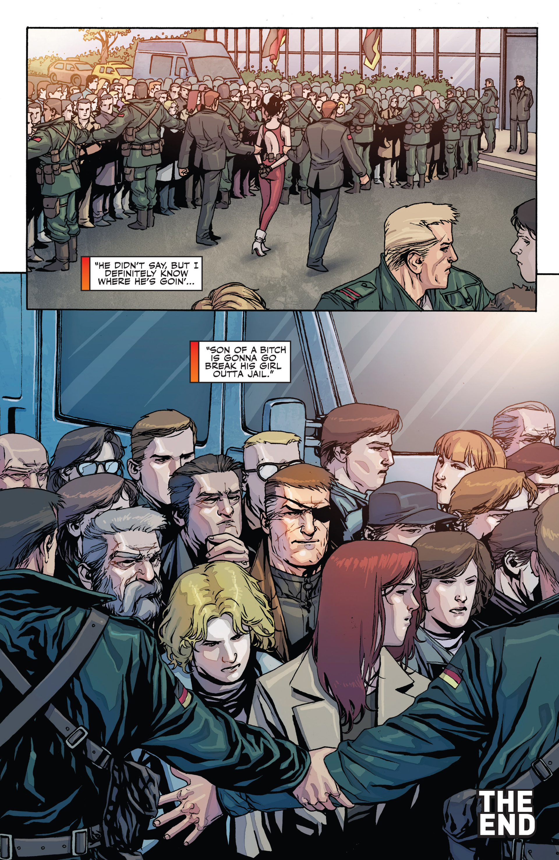Read online Secret Warriors comic -  Issue #28 - 25