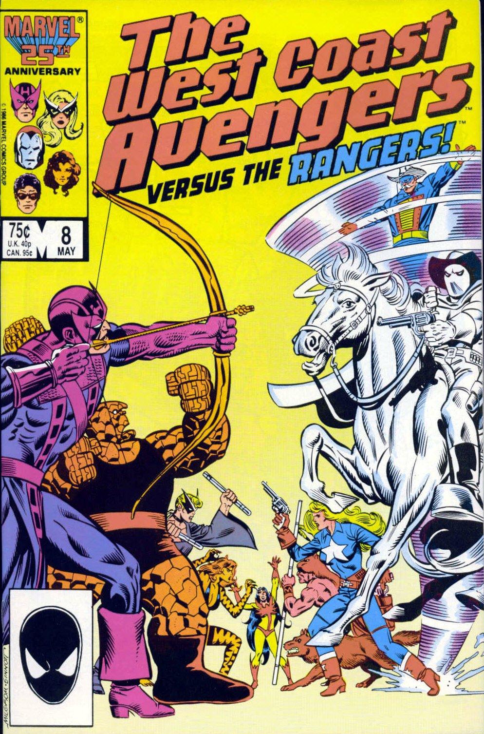 West Coast Avengers (1985) 8 Page 1