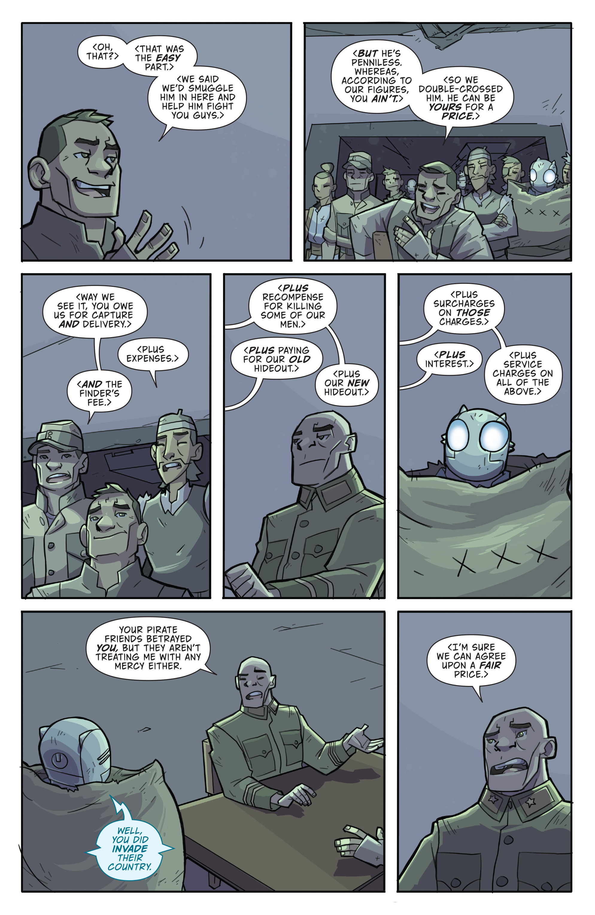 Read online Atomic Robo and the Temple of Od comic -  Issue #4 - 15