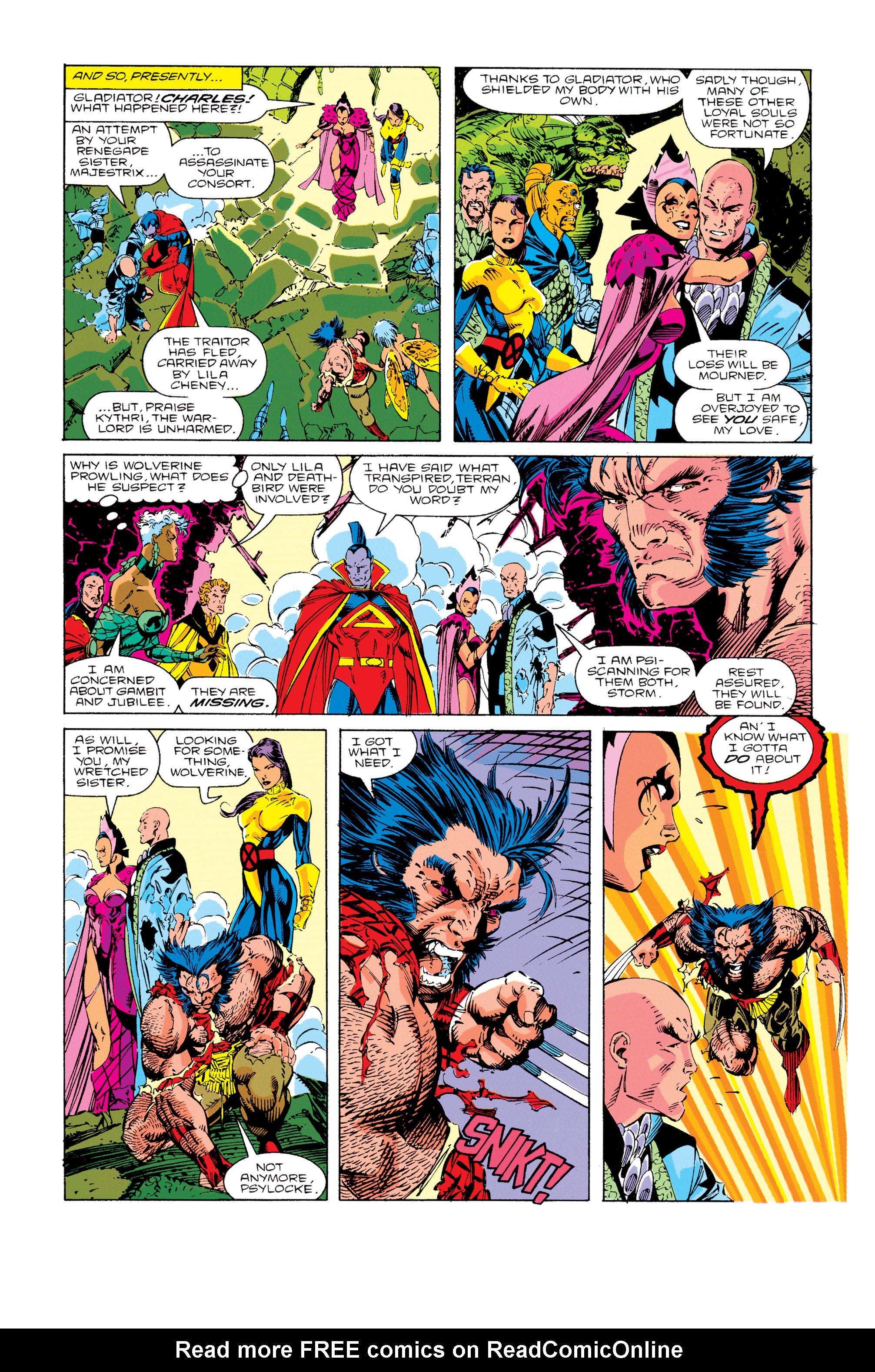 Read online Uncanny X-Men (1963) comic -  Issue #276 - 10