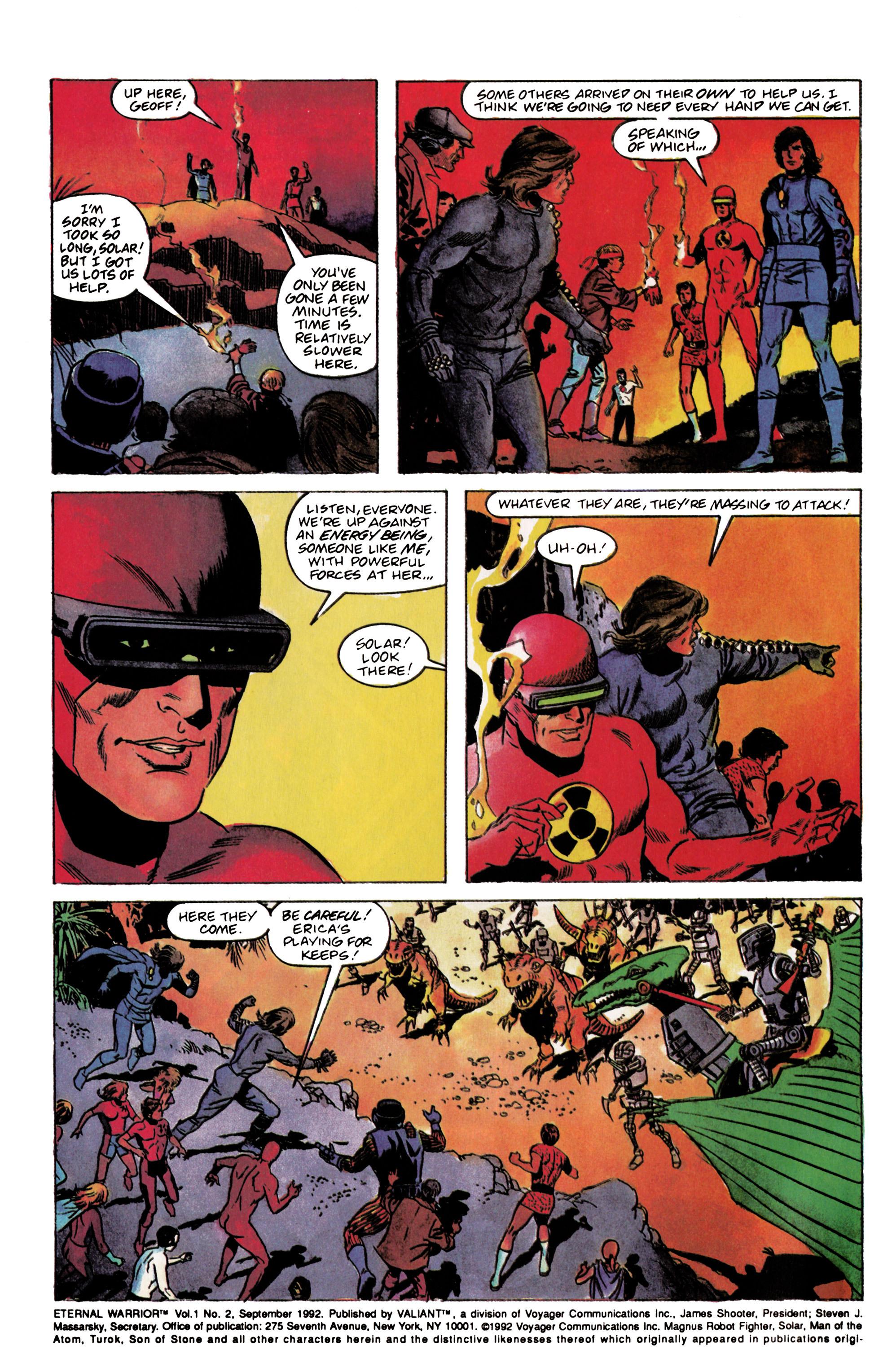 Read online Eternal Warrior (1992) comic -  Issue #2 - 3