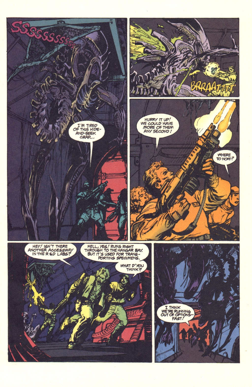 Read online Aliens: Rogue comic -  Issue #4 - 7