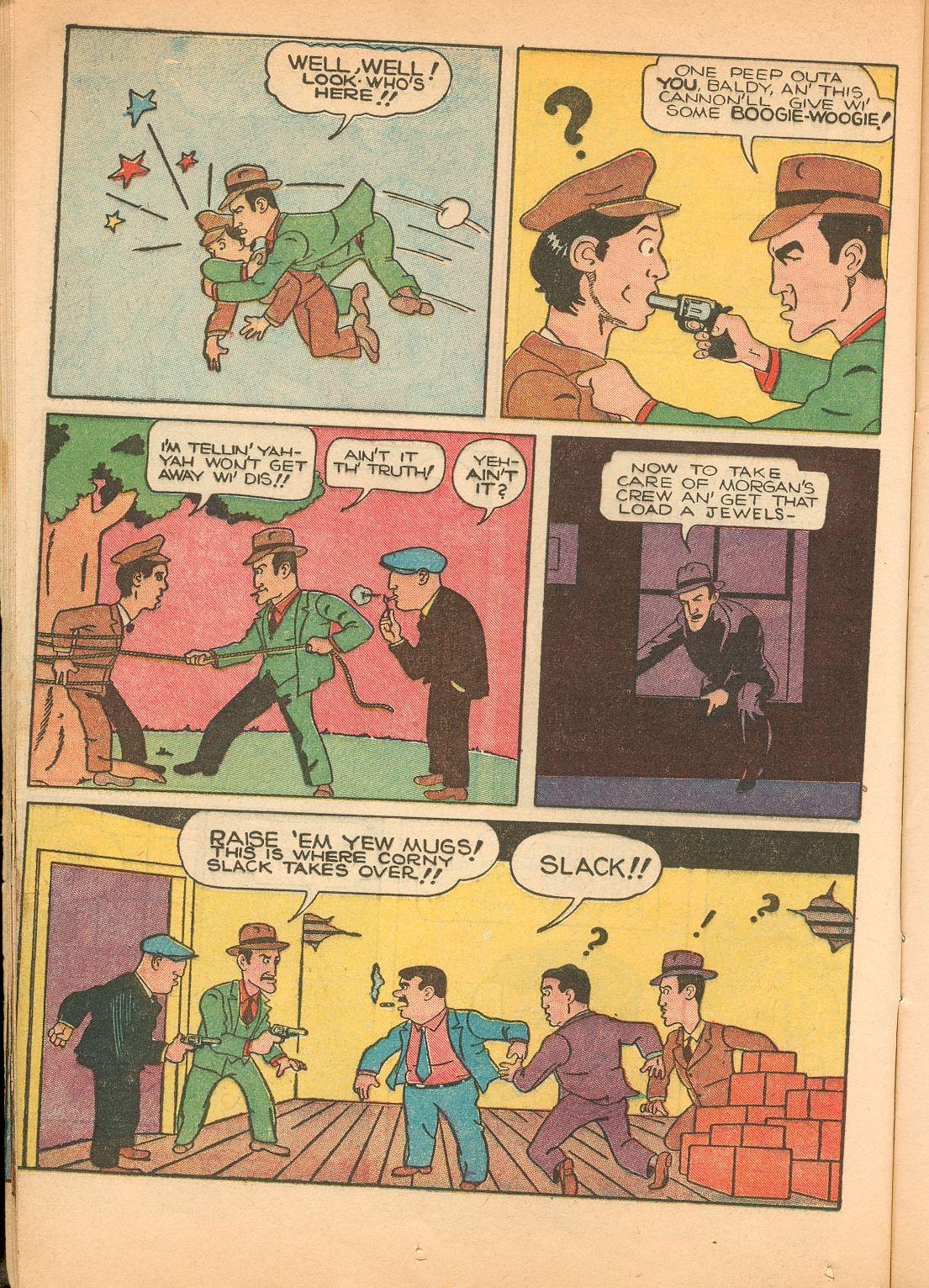 Read online Shadow Comics comic -  Issue #11 - 22
