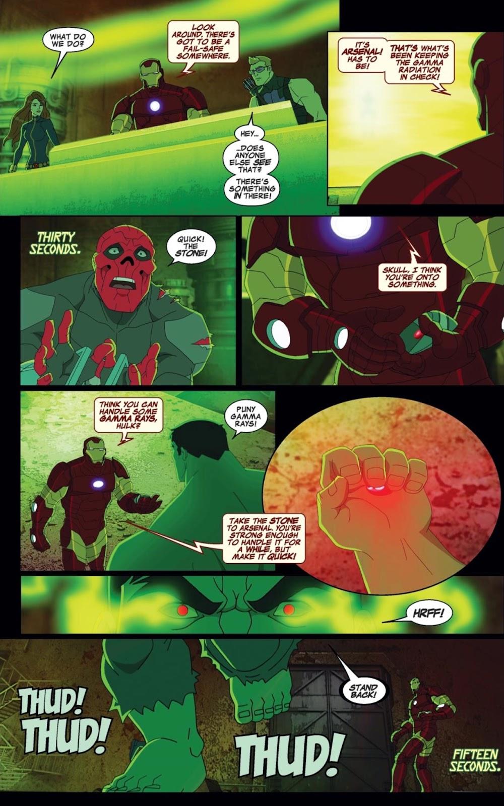 Read online Marvel Universe Avengers Assemble Season 2 comic -  Issue #1 - 15