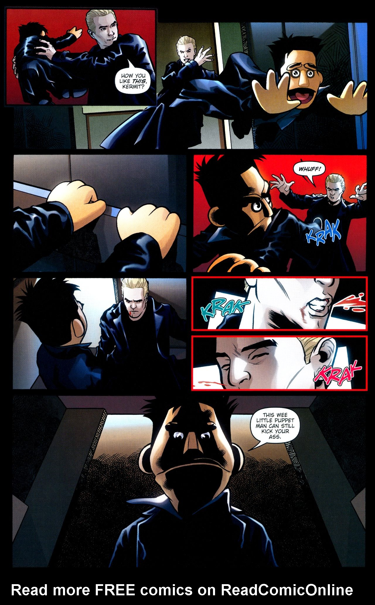 Read online Angel: Smile Time comic -  Issue #2 - 14