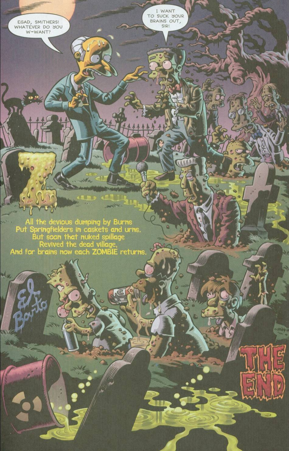 Read online Treehouse of Horror comic -  Issue #8 - 45