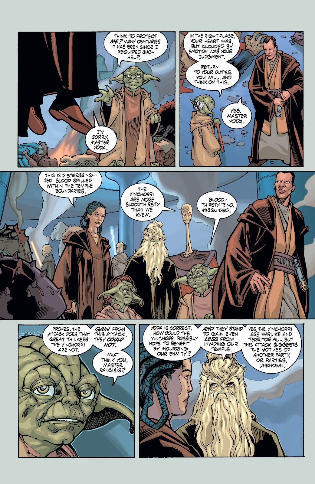Read online Star Wars Legends: Rise of the Sith - Epic Collection comic -  Issue # TPB 1 (Part 5) - 10