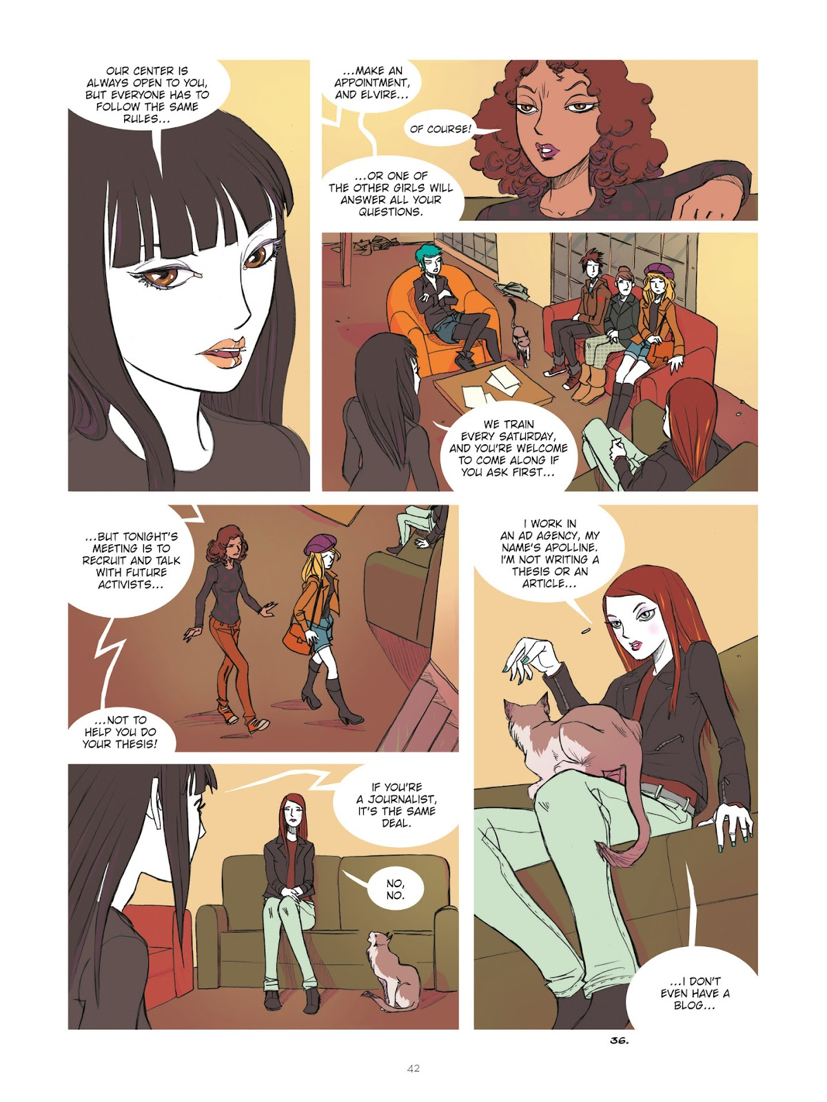 Read online Diary of A Femen comic -  Issue # TPB - 44