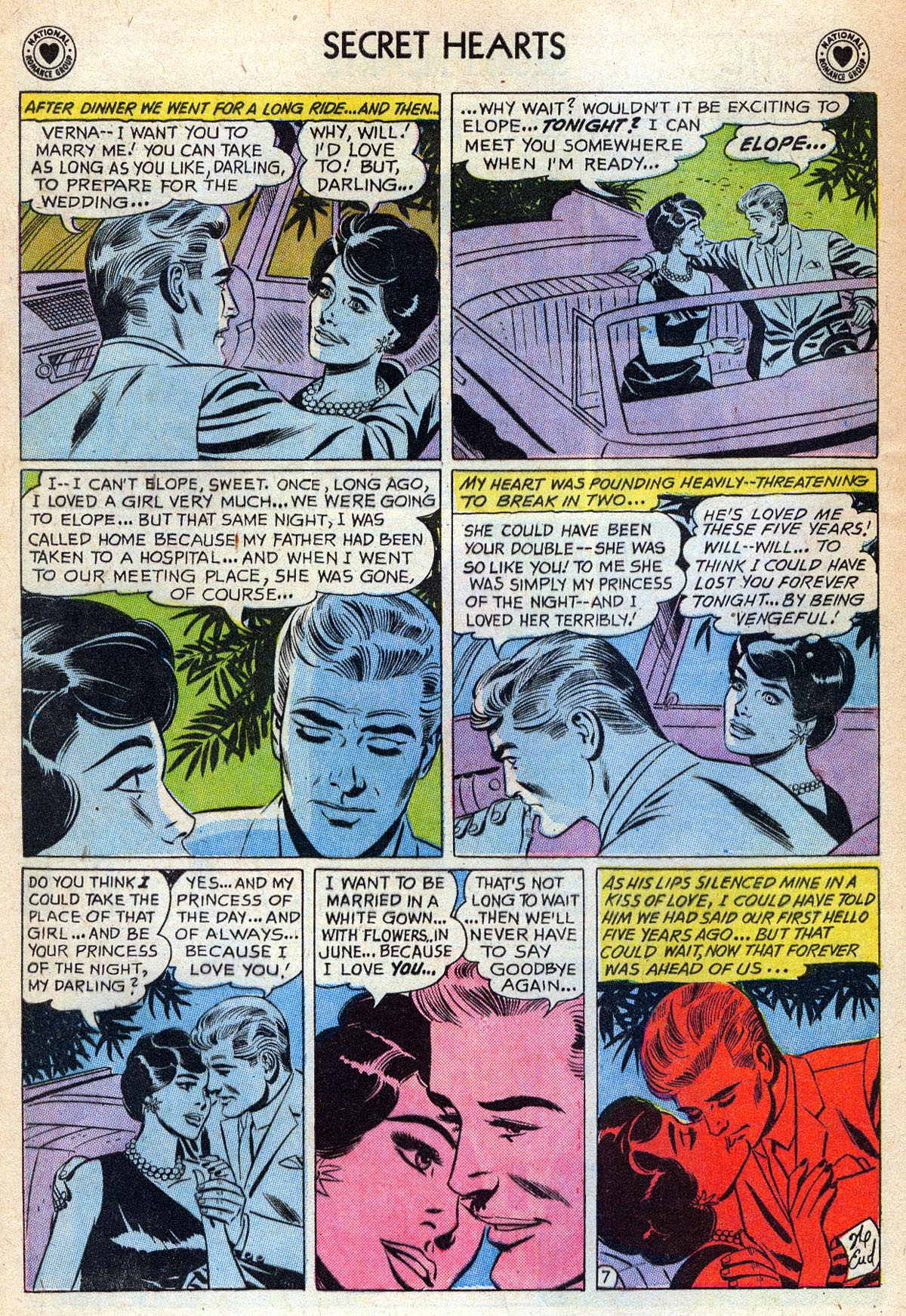 Read online Secret Hearts comic -  Issue #76 - 24