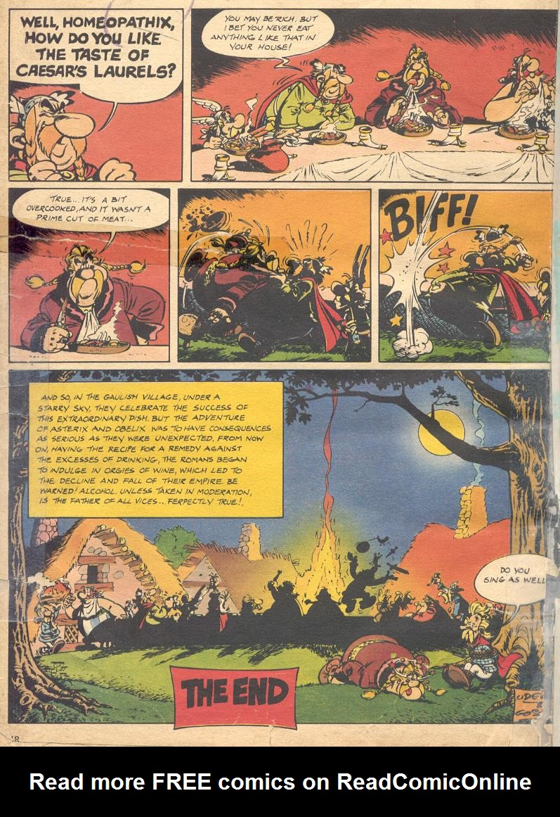 Read online Asterix comic -  Issue #18 - 46