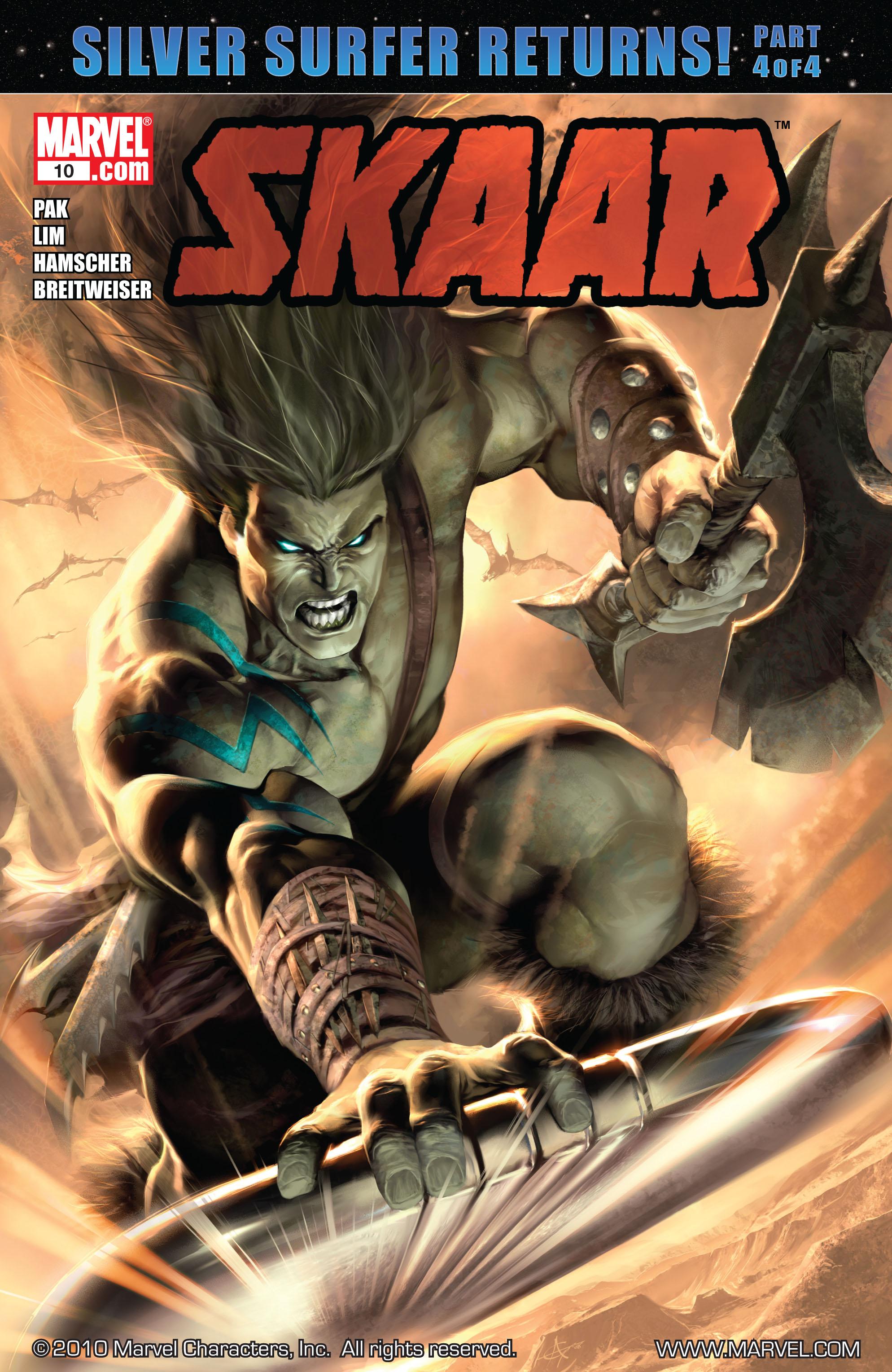 Read online Skaar: Son of Hulk comic -  Issue #10 - 1