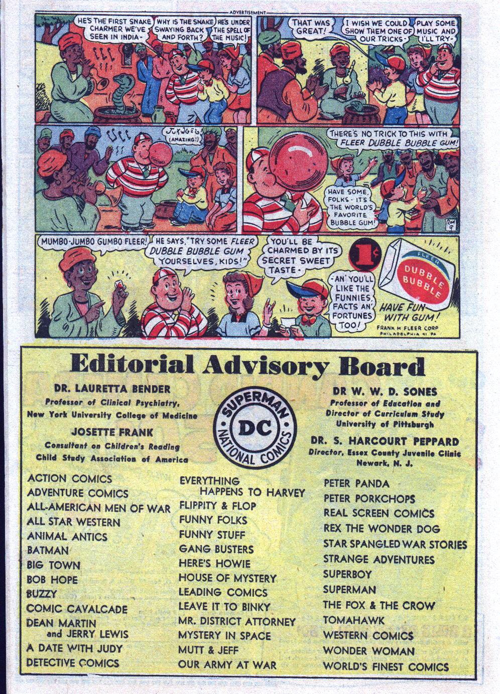 Read online Adventure Comics (1938) comic -  Issue #195 - 16