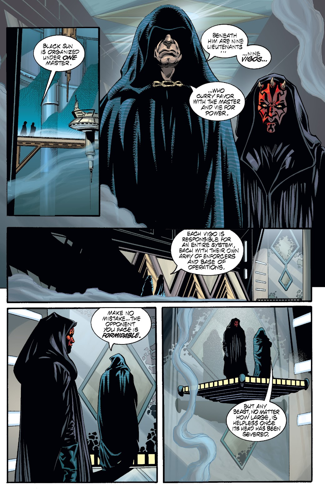 Read online Star Wars Legends: Rise of the Sith - Epic Collection comic -  Issue # TPB 2 (Part 2) - 54