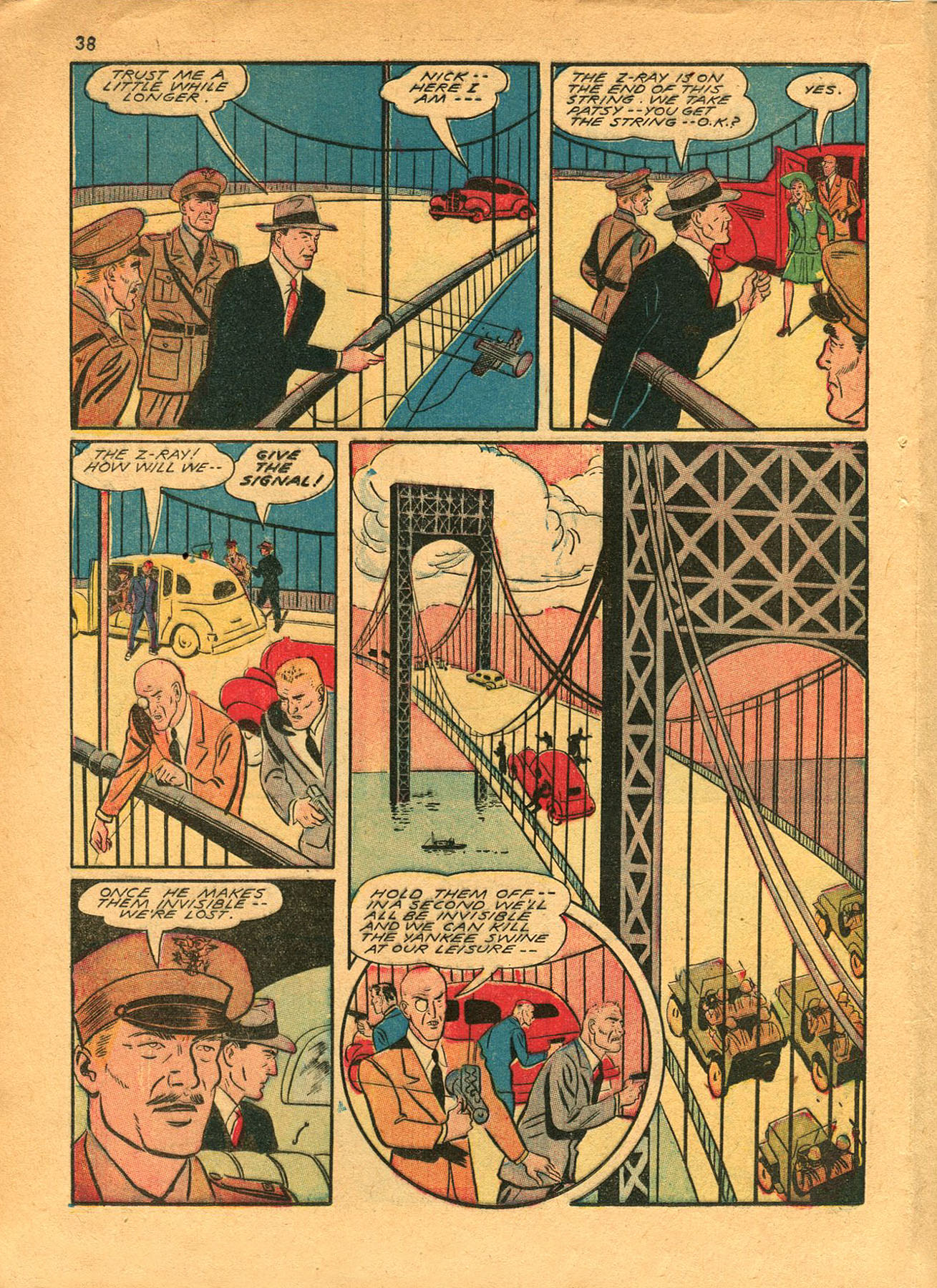 Read online Shadow Comics comic -  Issue #23 - 38