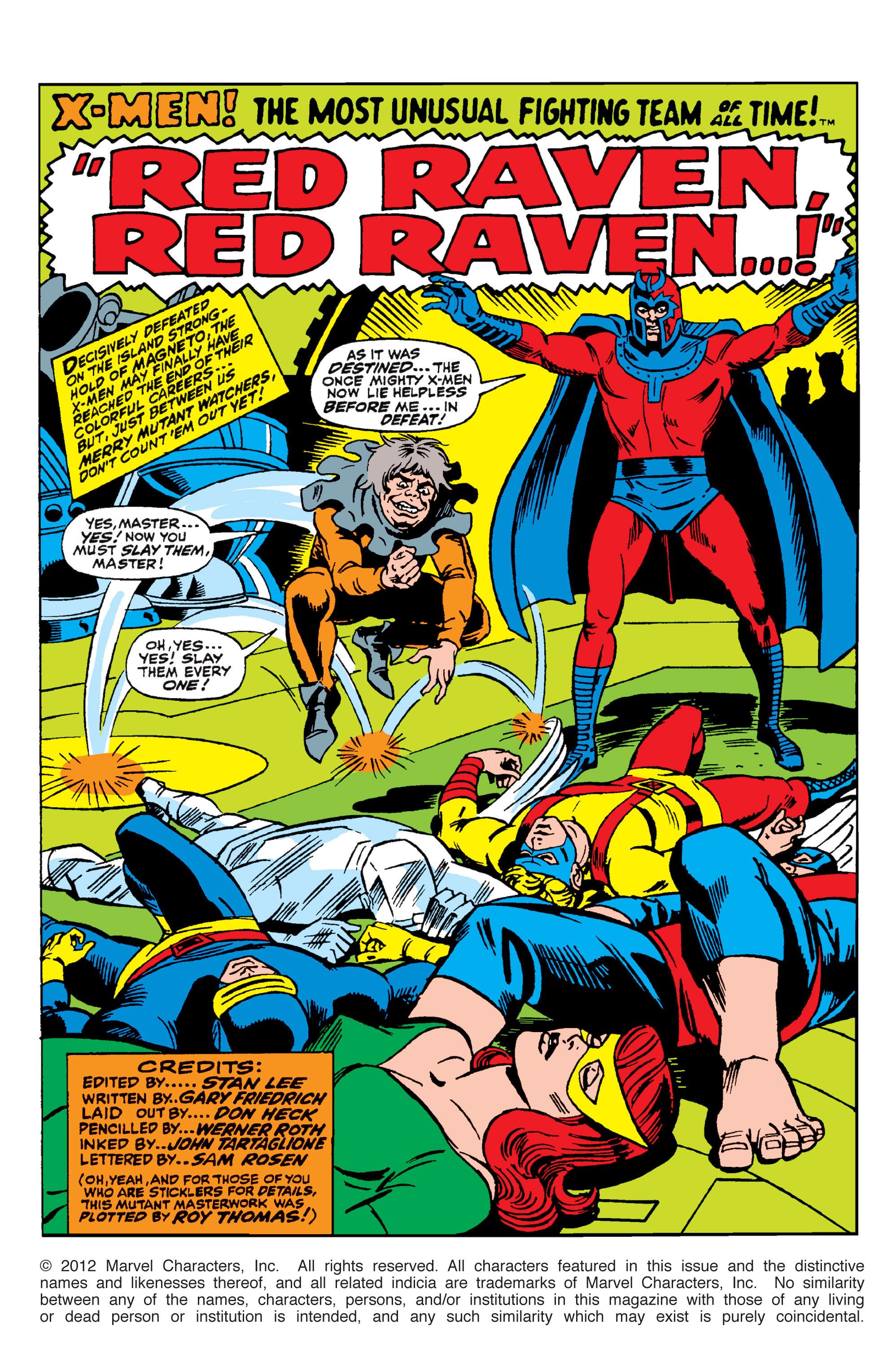 Uncanny X-Men (1963) 44 Page 1