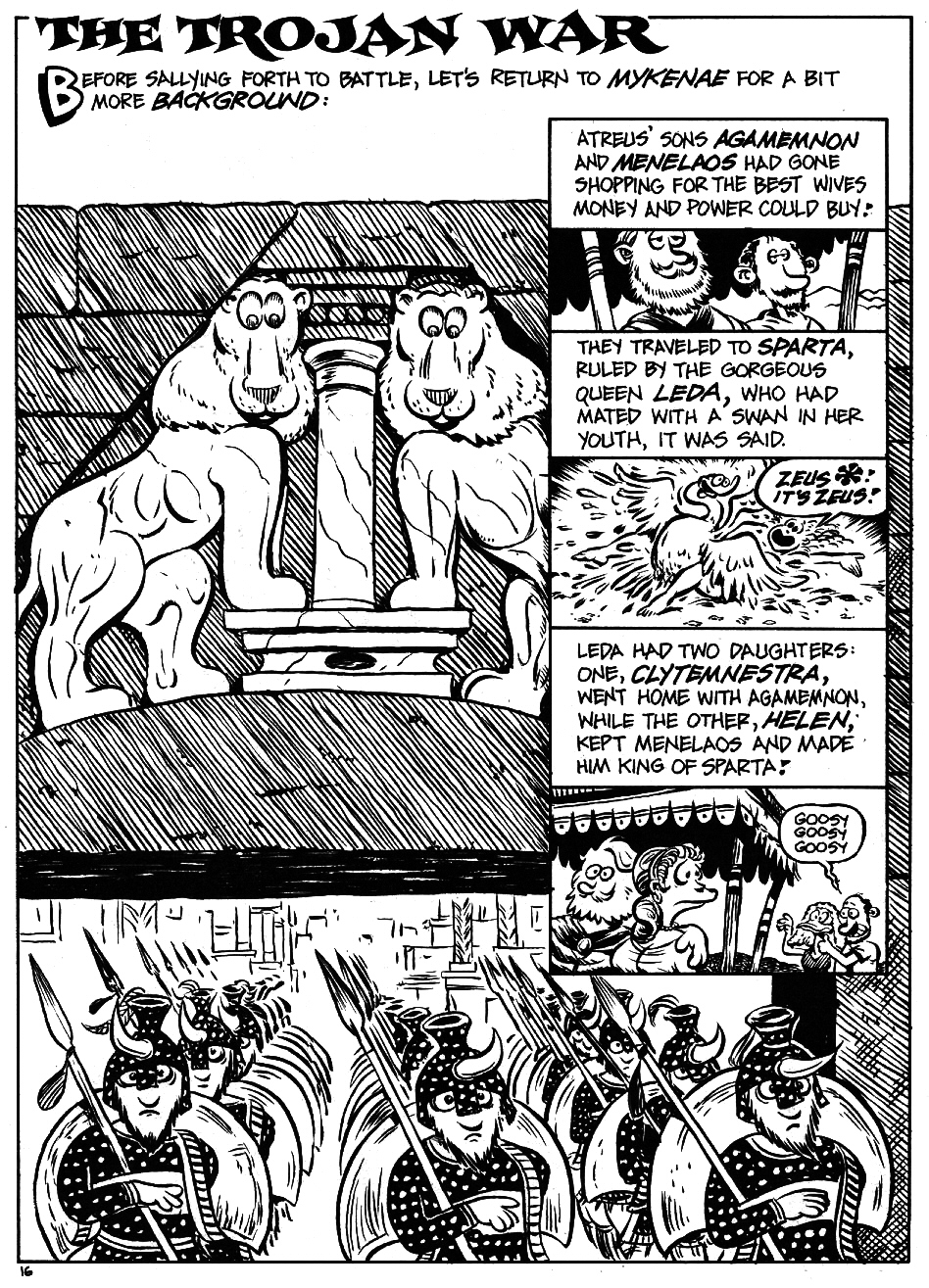 Read online The Cartoon History of the Universe comic -  Issue #5 - 18