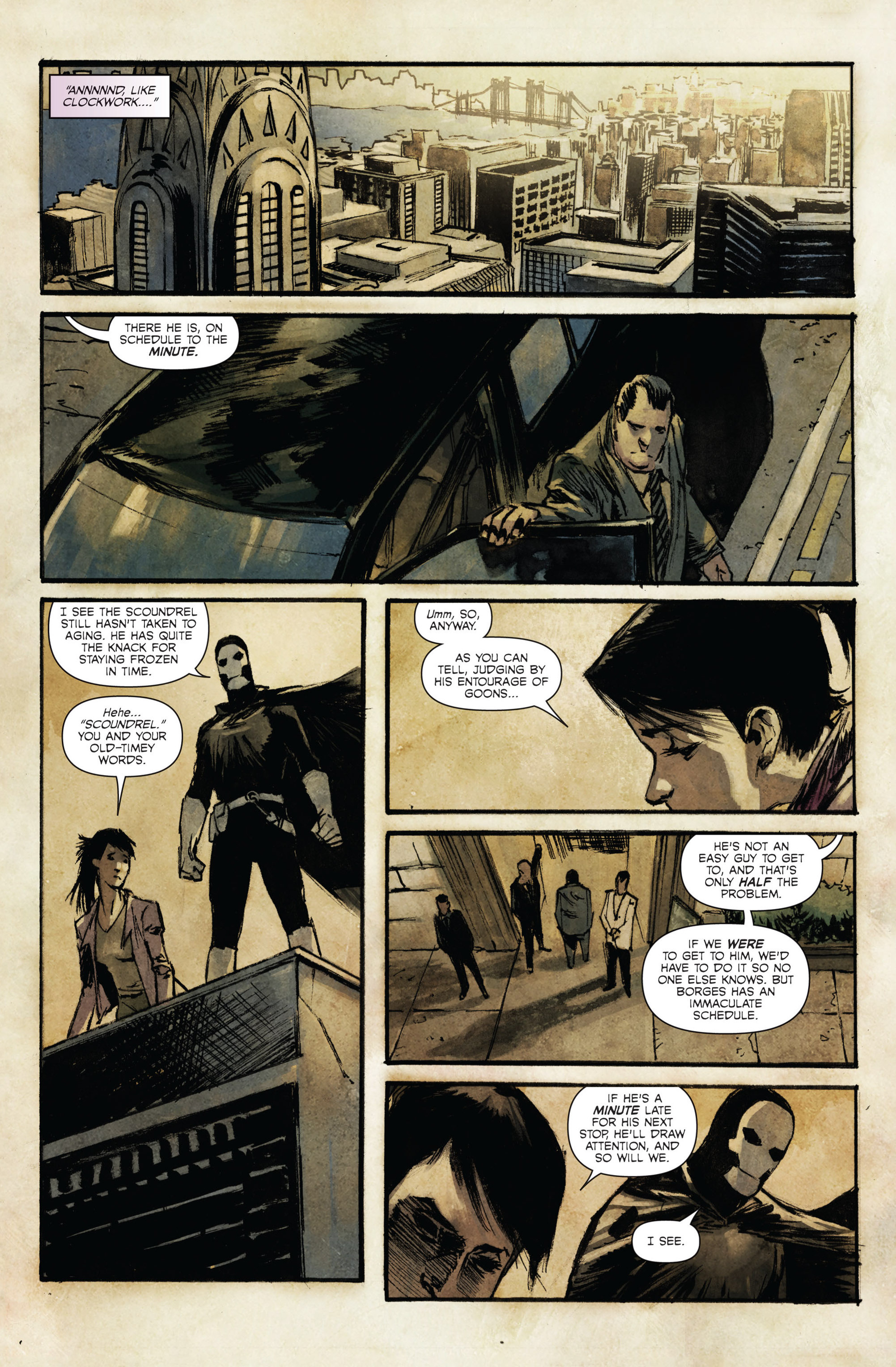 Read online Hoax Hunters (2015) comic -  Issue #4 - 11