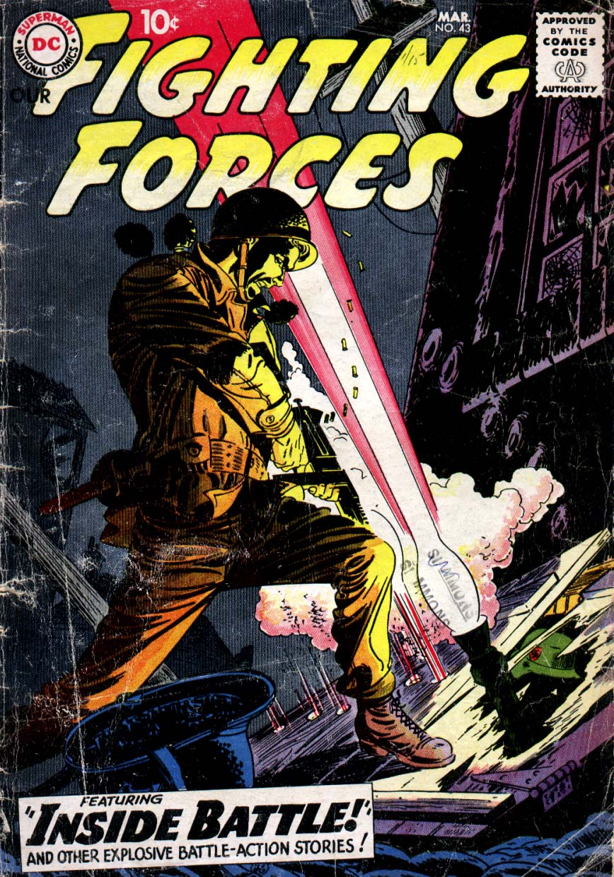 Our Fighting Forces (1954) issue 43 - Page 1