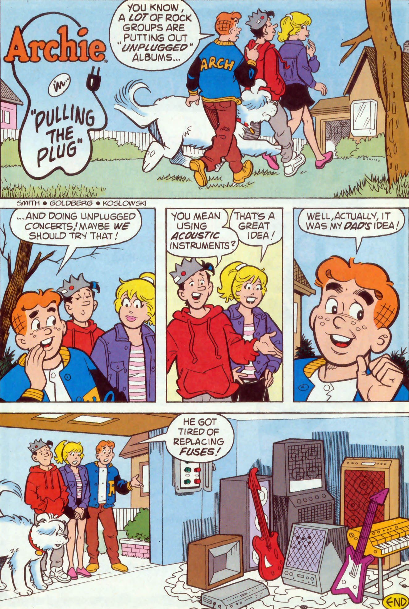 Read online Archie (1960) comic -  Issue #468 - 20