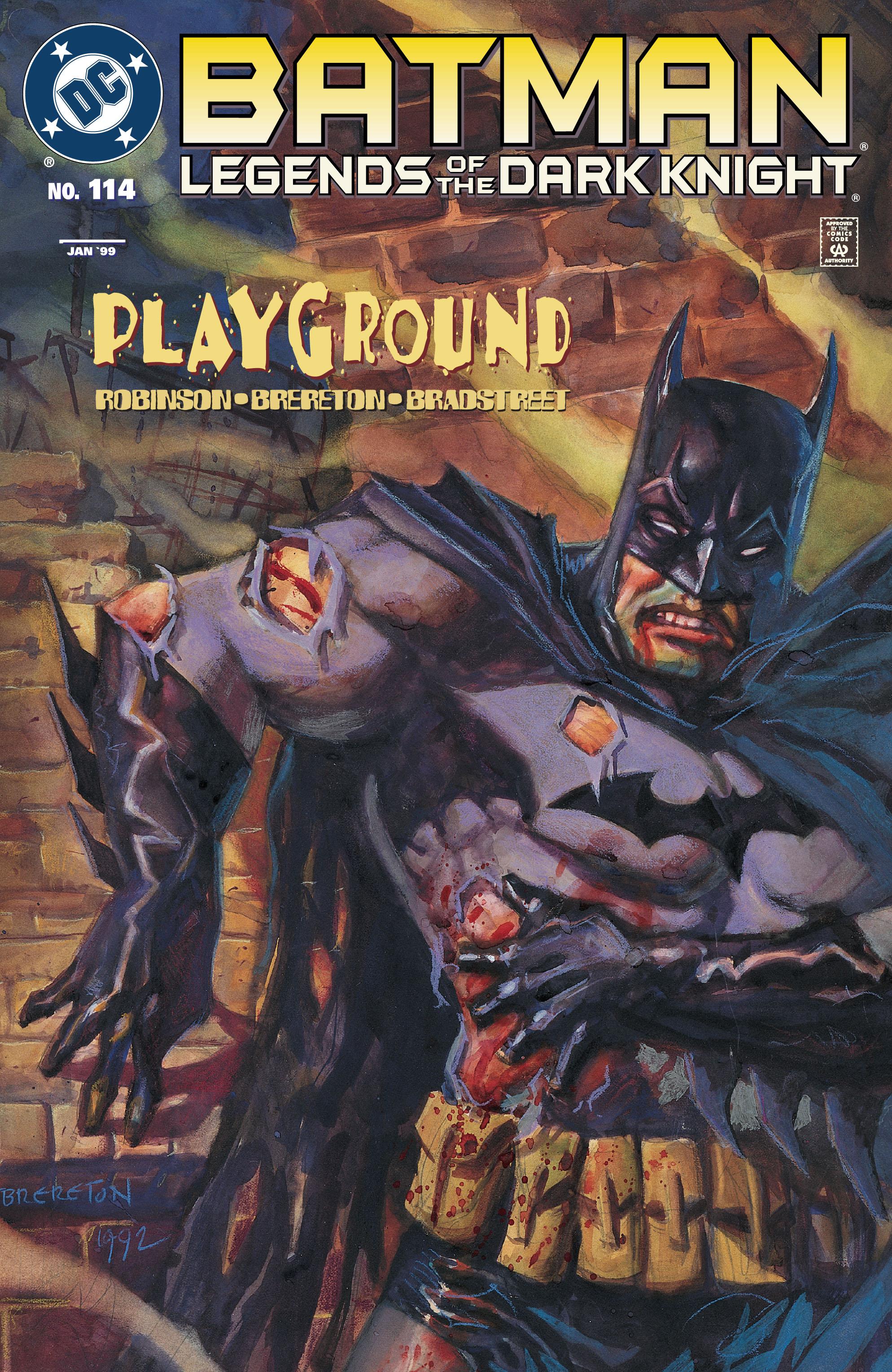 Batman: Legends of the Dark Knight 114 Page 1