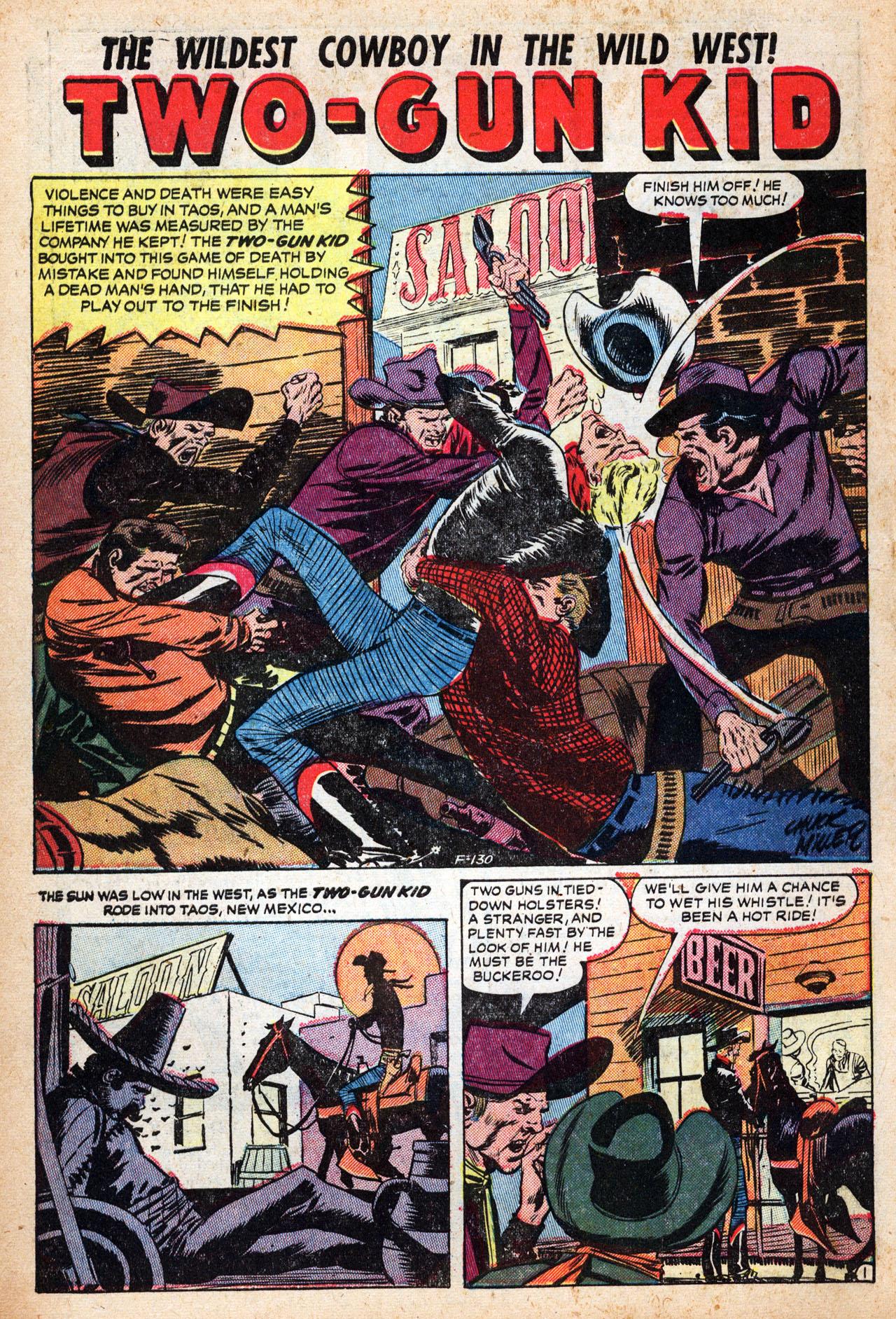 Read online Two-Gun Kid comic -  Issue #19 - 10