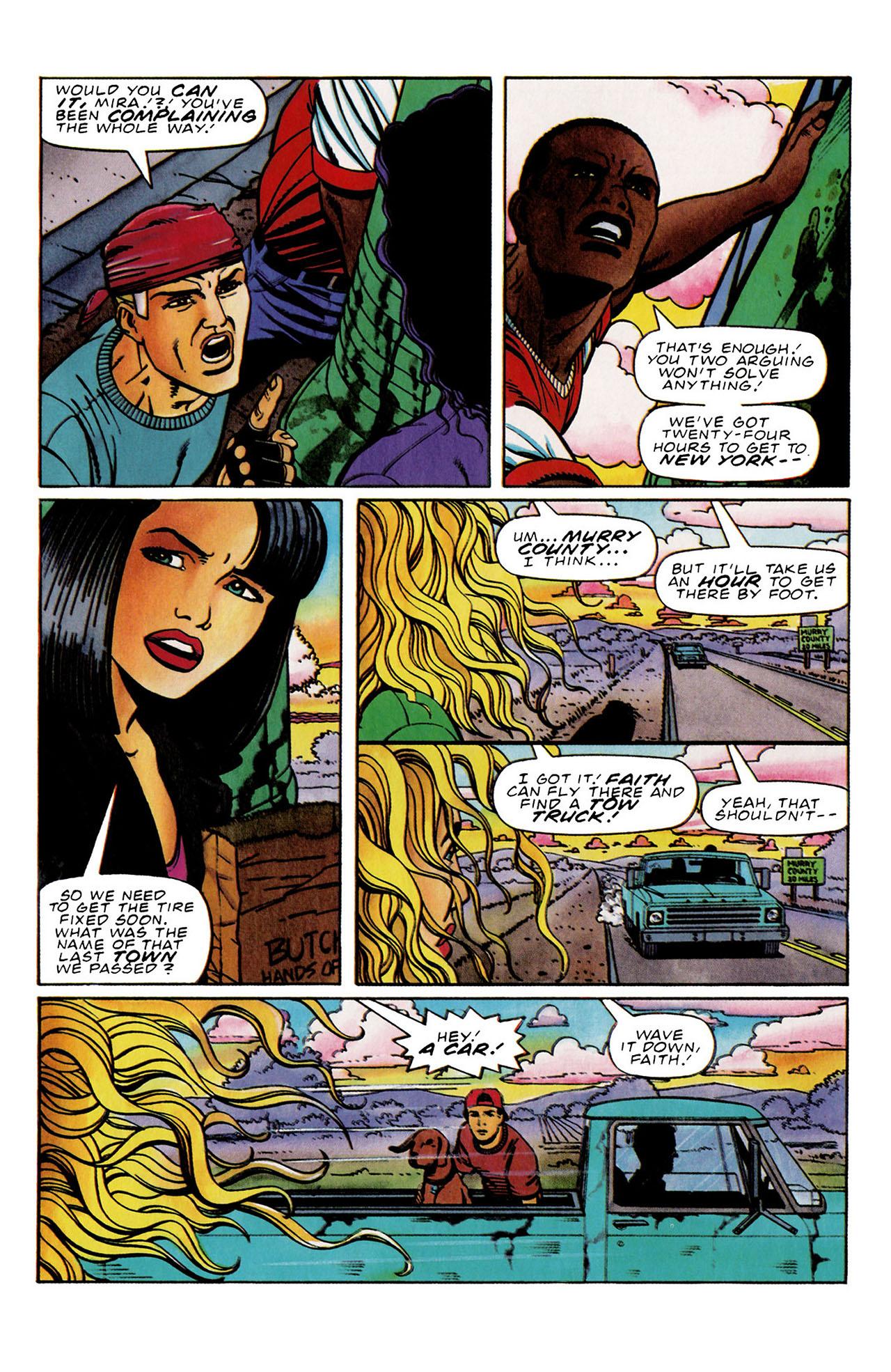 Read online Harbinger (1992) comic -  Issue #33 - 4