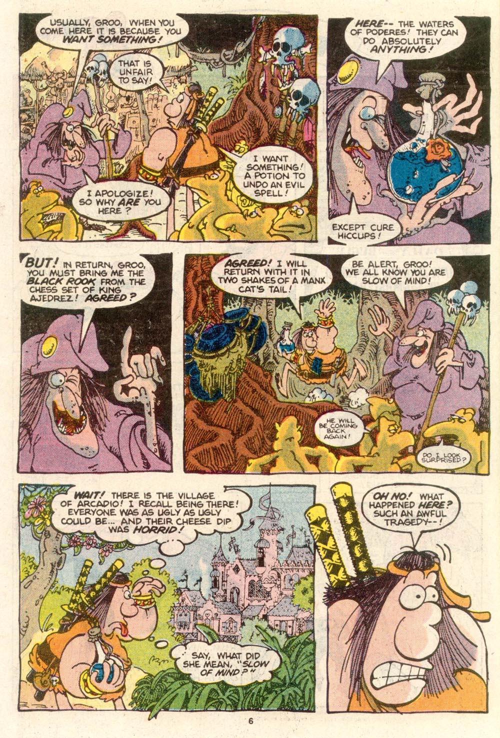 Read online Sergio Aragonés Groo the Wanderer comic -  Issue #24 - 7